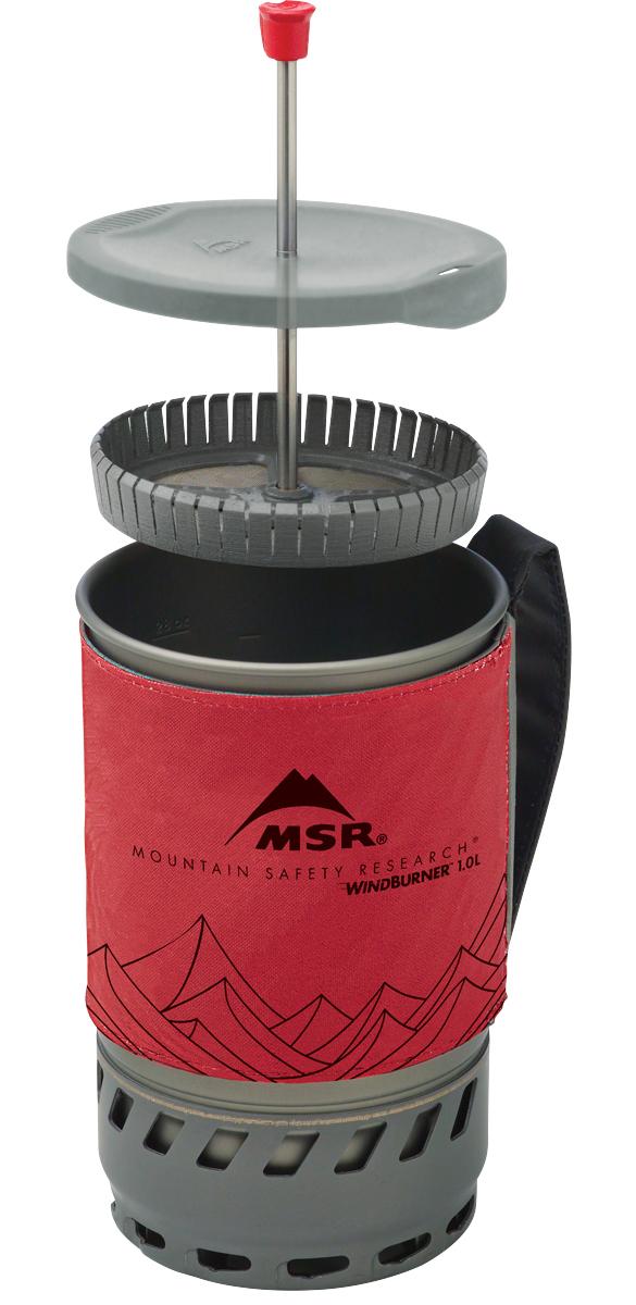 MSR Windburner Coffee Press Kit 1.8L Cooking System Red