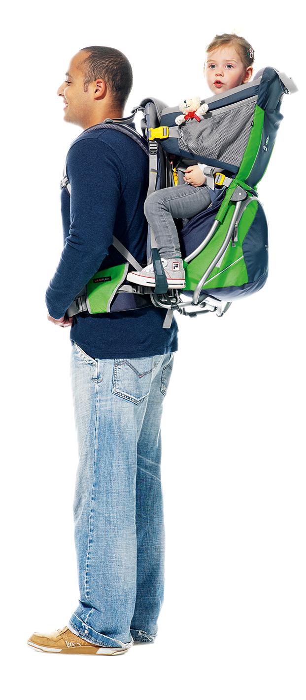 new collection sneakers unique design Deuter Kid Comfort Air Child Carrier Backpack - Infants