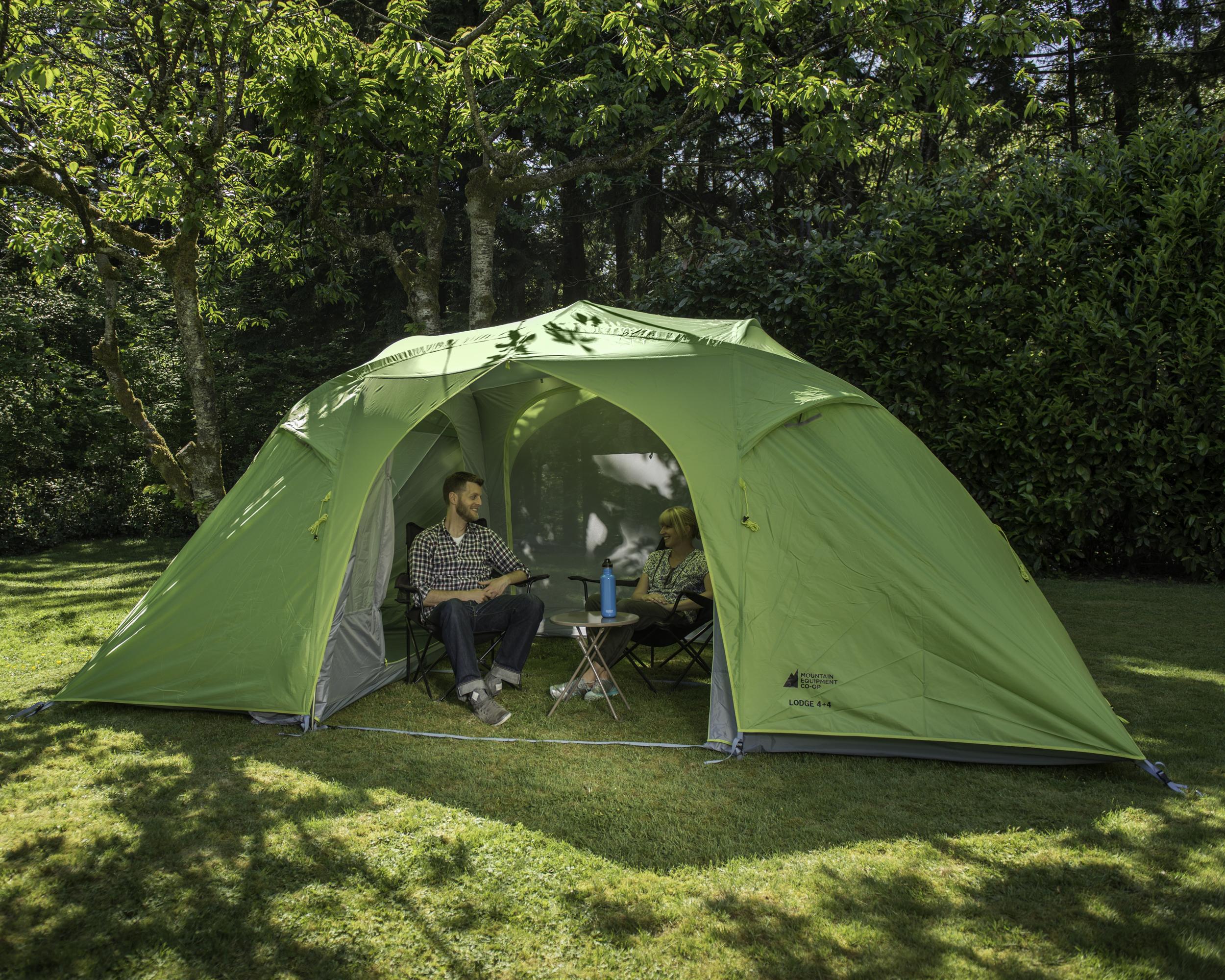 & MEC Lodge 4+4 Tent