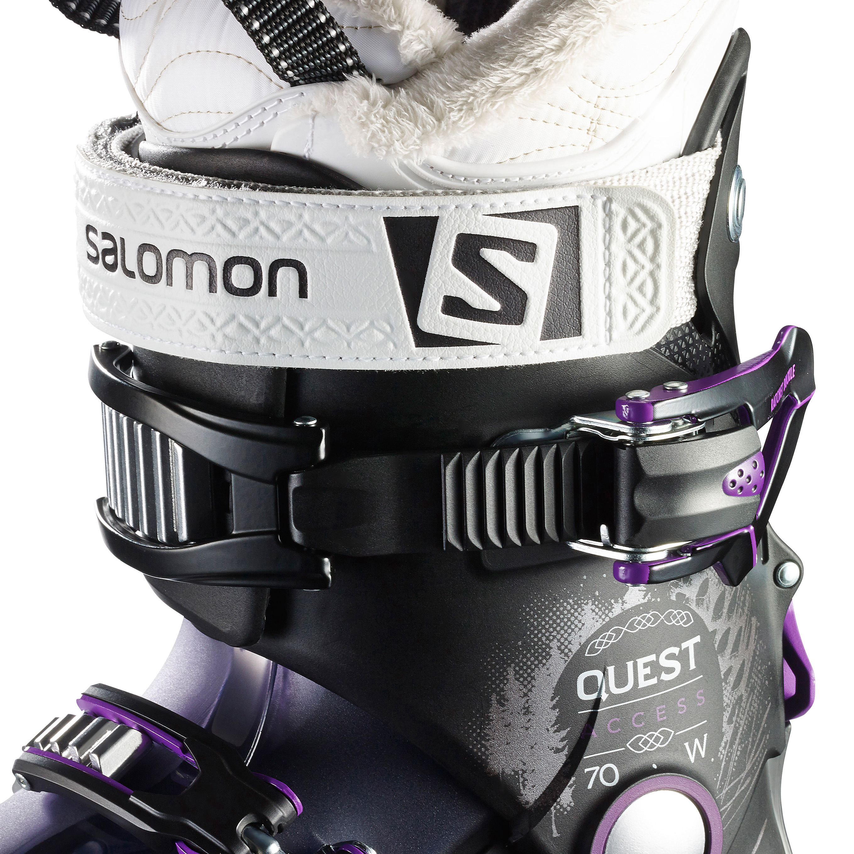 official photos best authentic look for Salomon Quest Access 70 Ski Boots - Women's | MEC