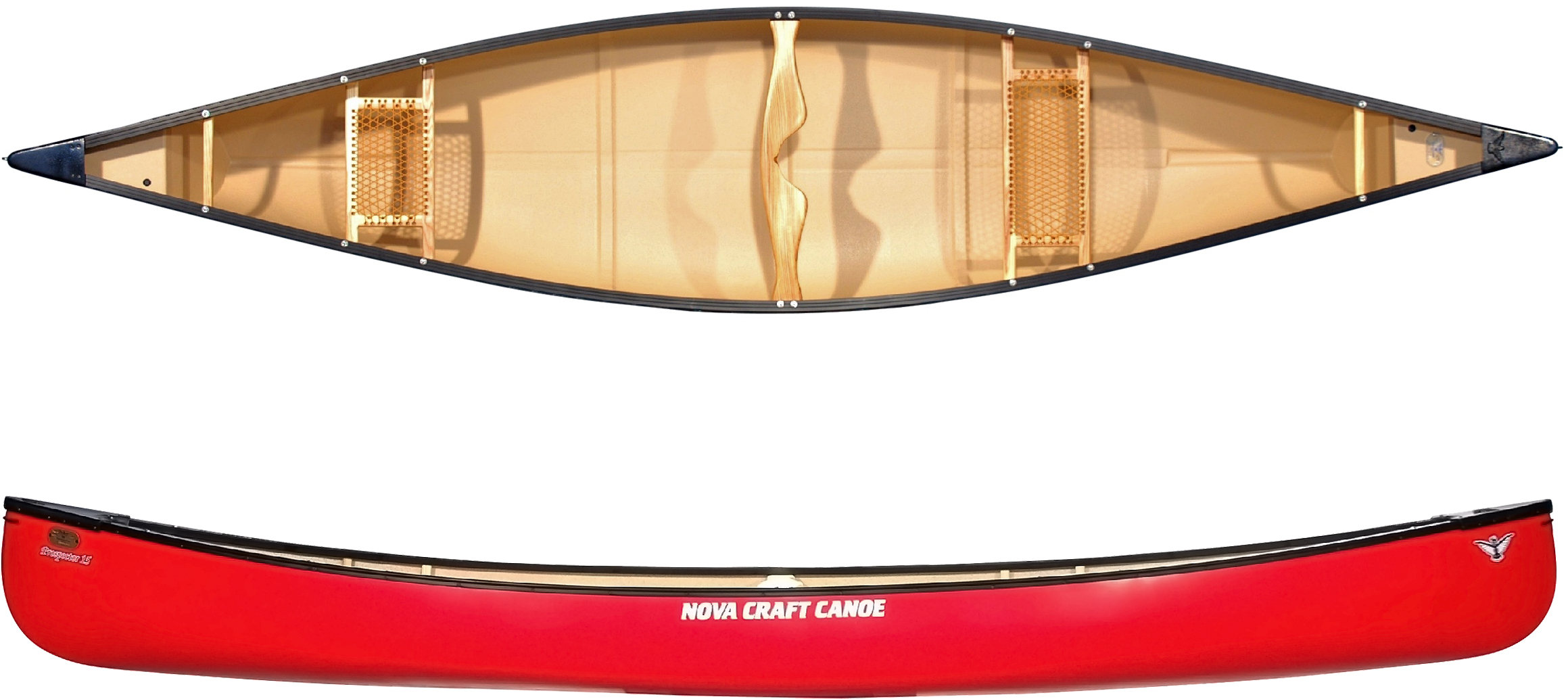 nova craft prospector 15 tuffstuff aluminum canoe
