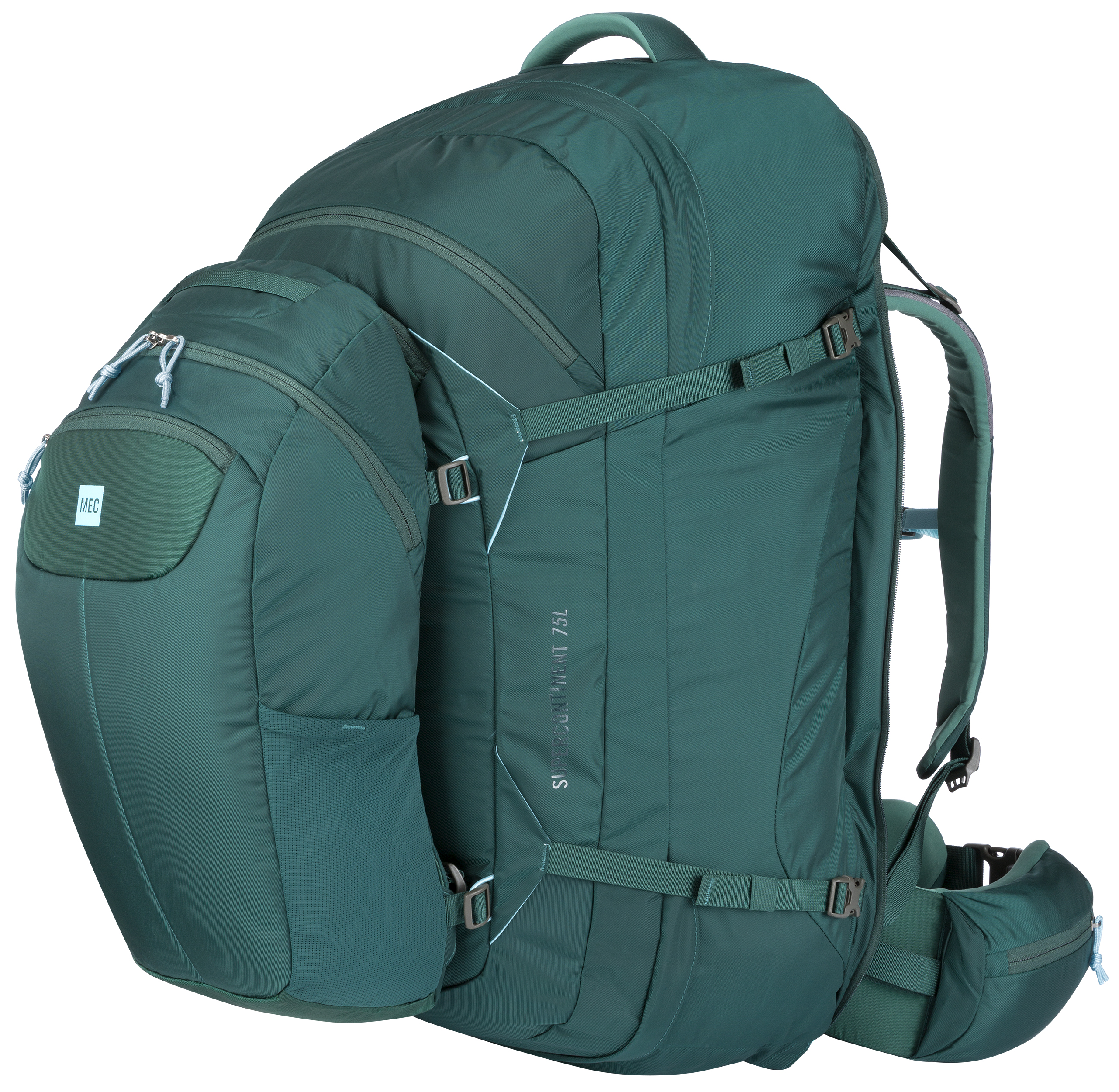 MEC Supercontinent 75 Travel Pack - Women's