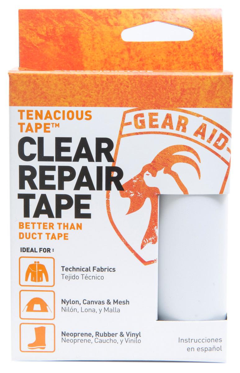 McNett Tenacious Tape Fabric and Seam Repair 50 x 7.5 cm Clear