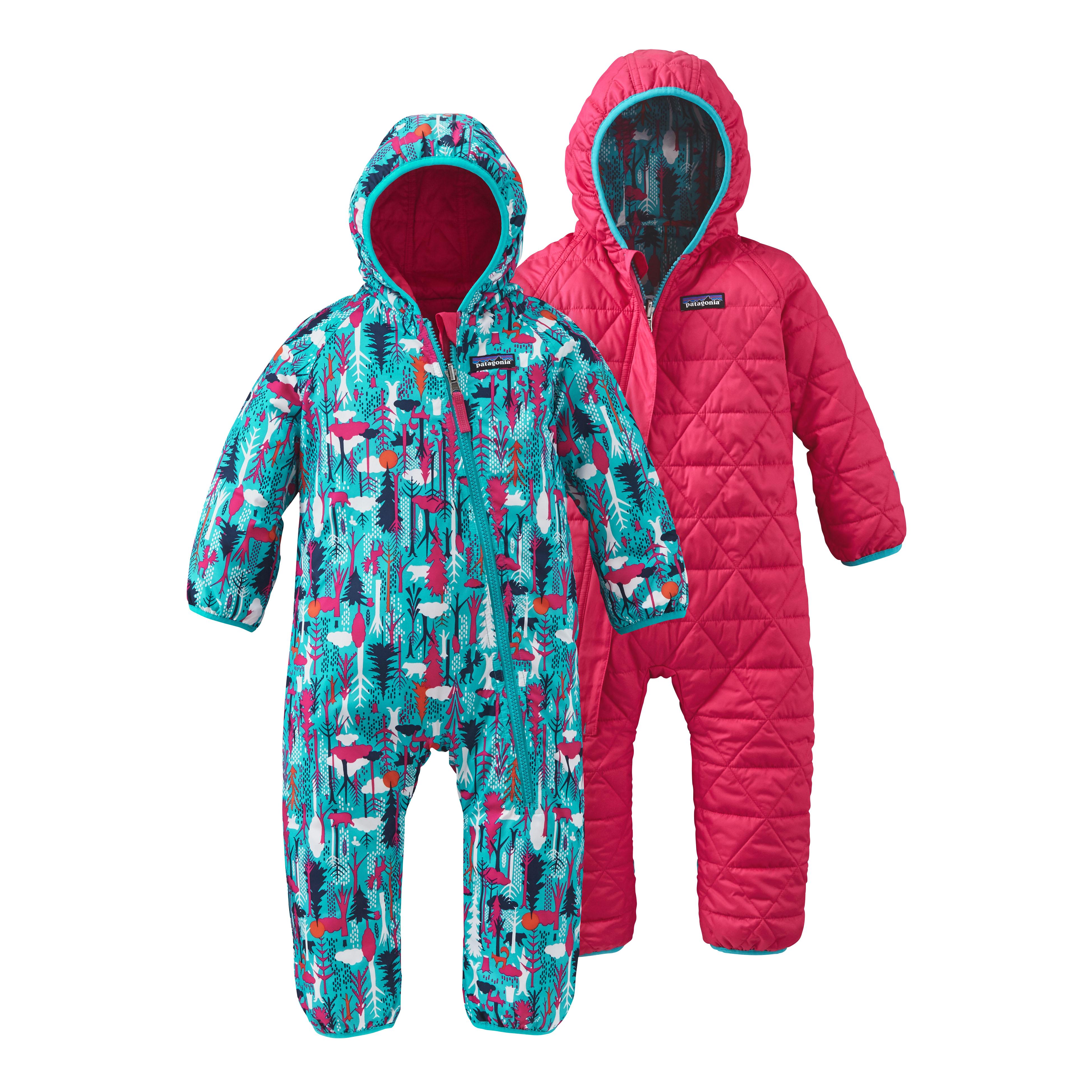 e1f9d762b Patagonia Reversible Puff-Ball Bunting Suit 2 - Infants | MEC