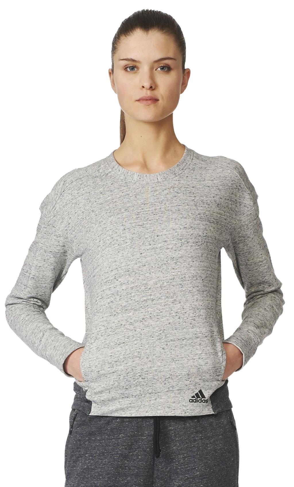 9229a8498 Adidas Cotton Fleece Crew Sweatshirt - Women's | MEC