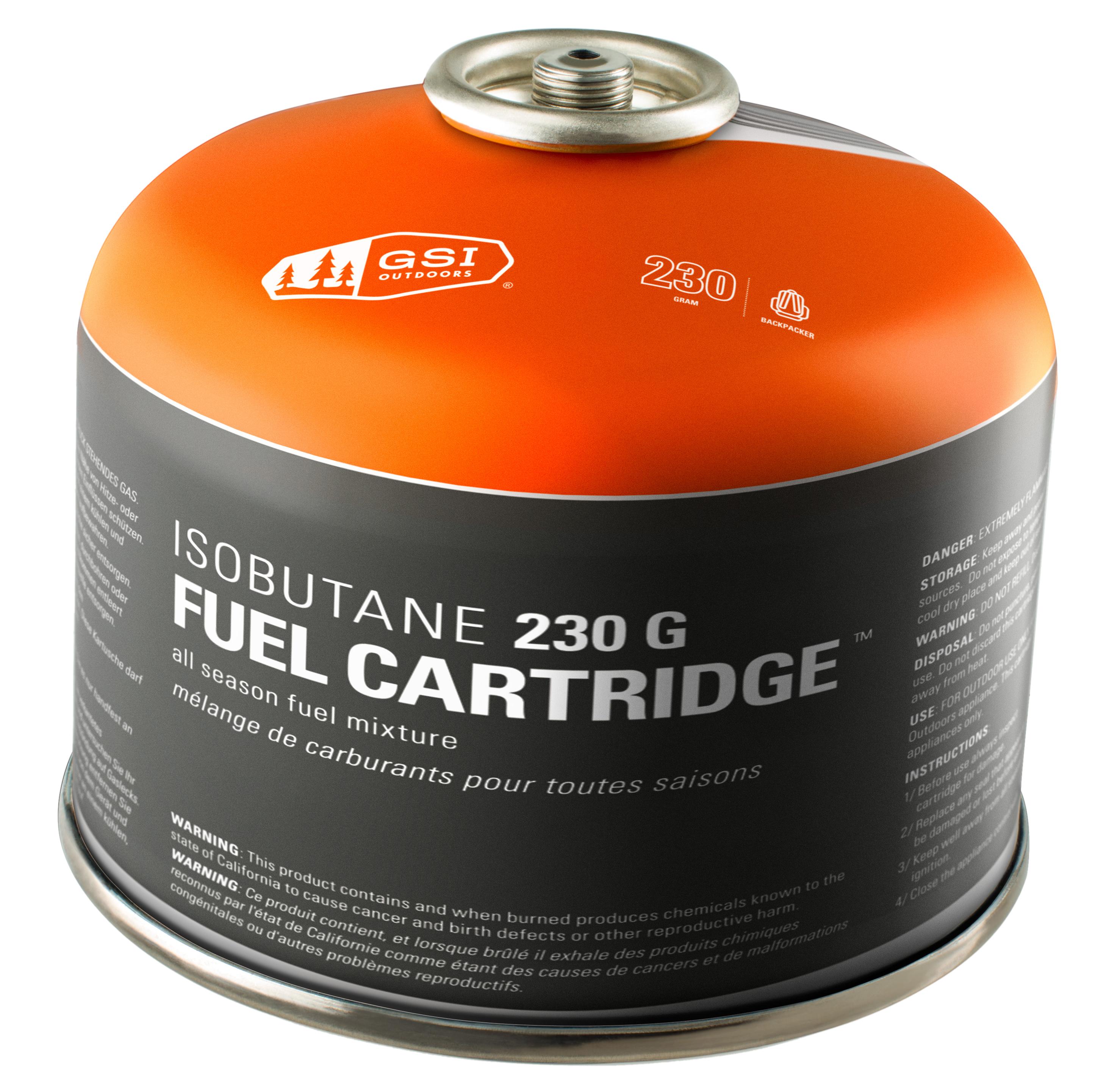 Gsi Isobutane 230g Fuel Canister Mec