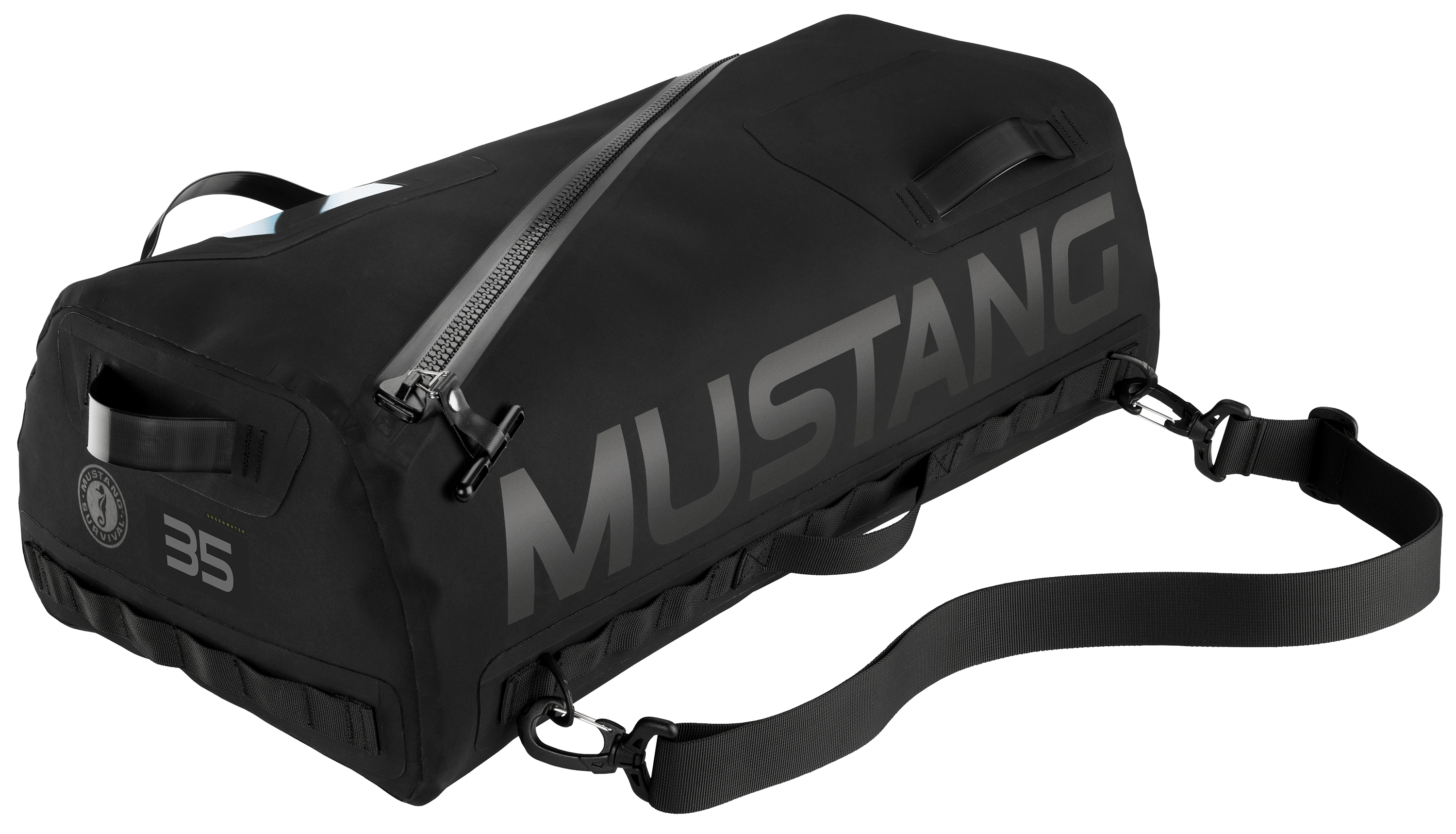 Greenwater 35 Waterproof Duffle Bag Black