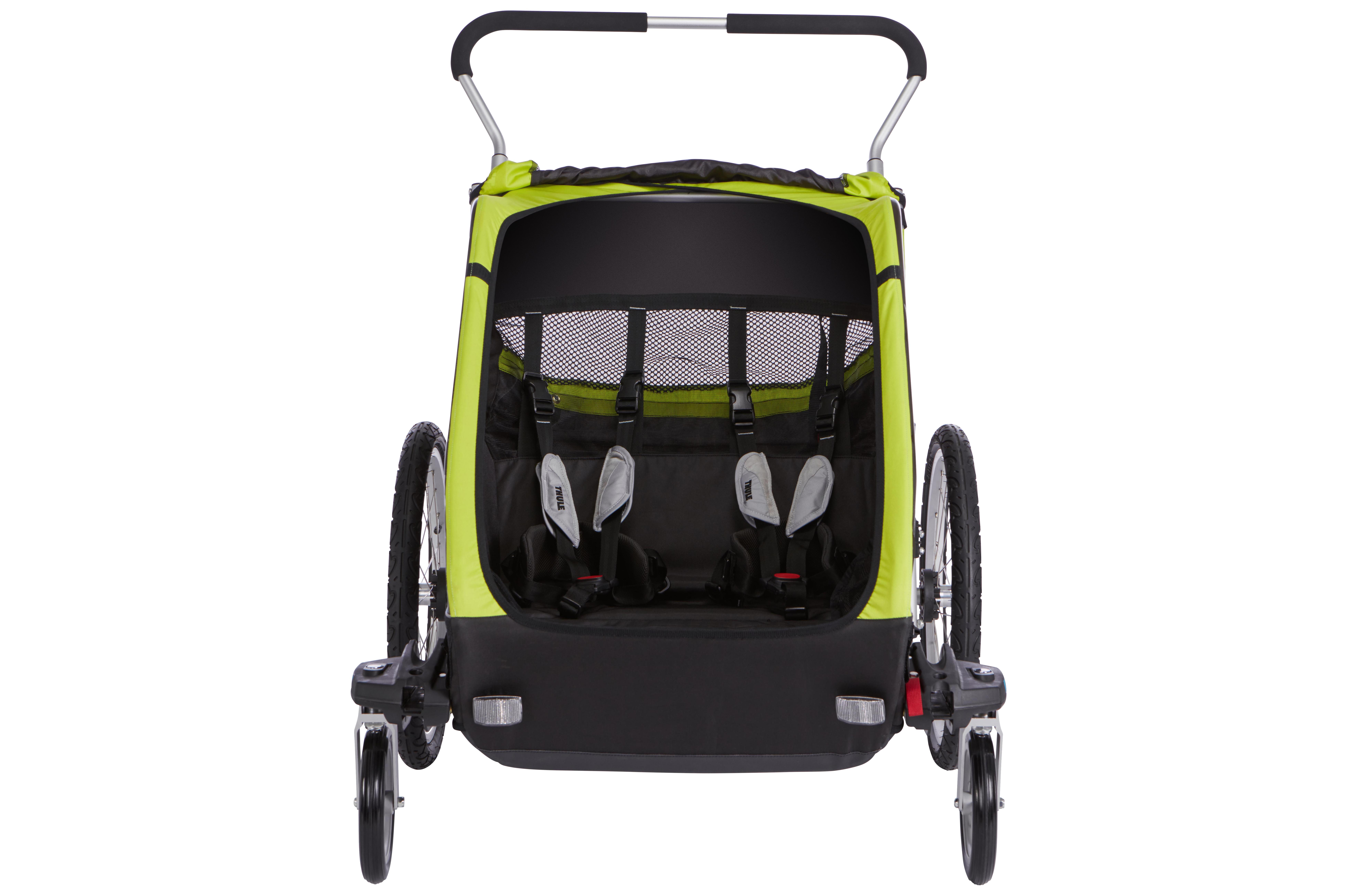 4f59fa7b954 Thule Chariot Cheetah XT 2 + Cycle Stroll - Infants to Children