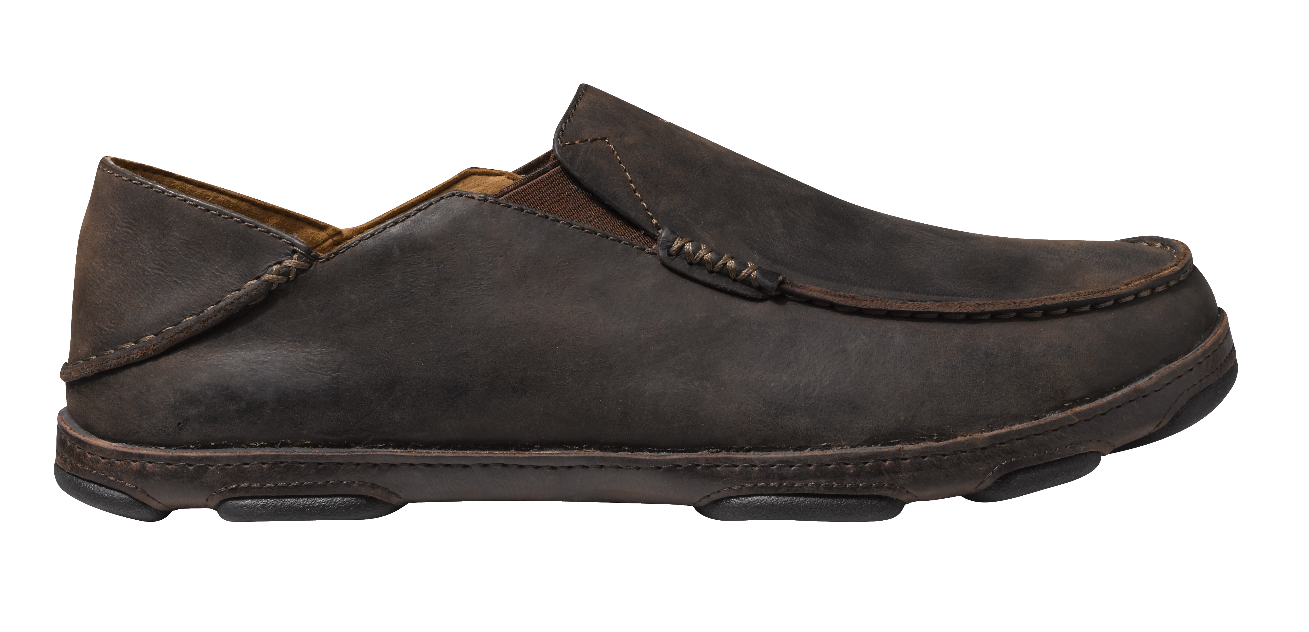 Olukai Moloa Shoes Mens D Island Moccasine Slip On Lacoste Suede Blue