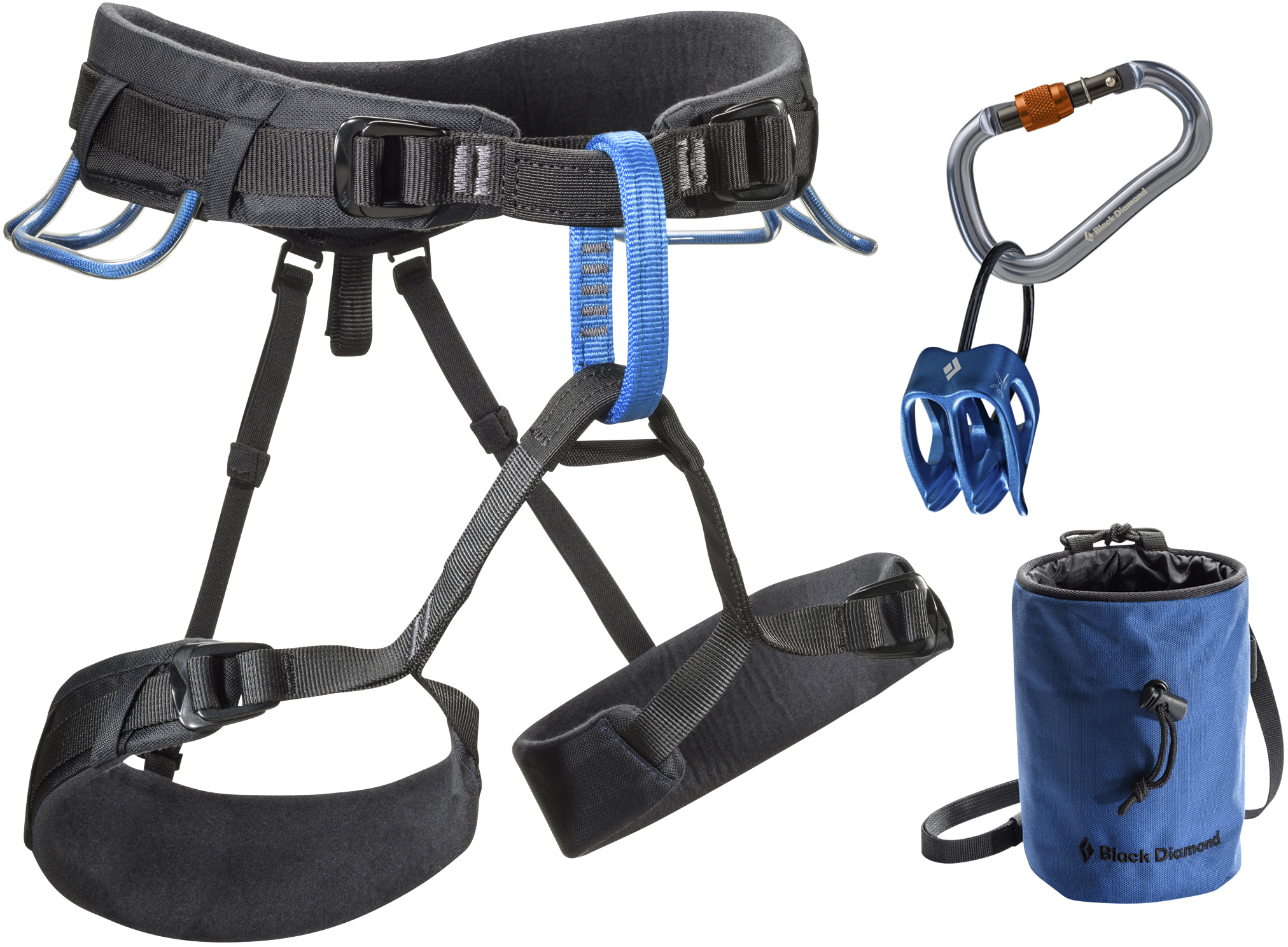 Climbing Harnesses Harness Momentum Ds Package Smoke Powell