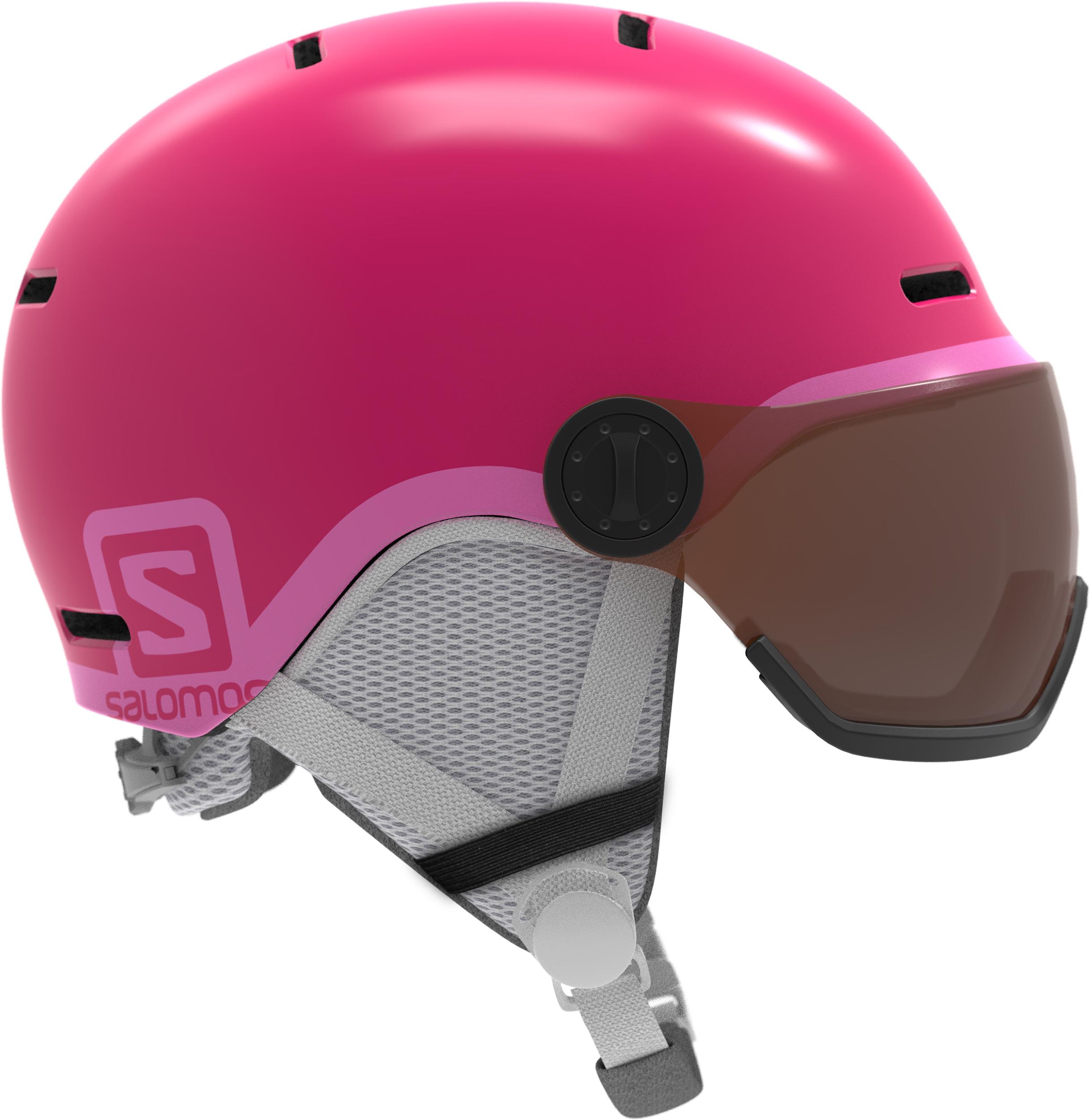 d20964363361 Salomon Grom Visor Snow Helmet + Visor - Children to Youths