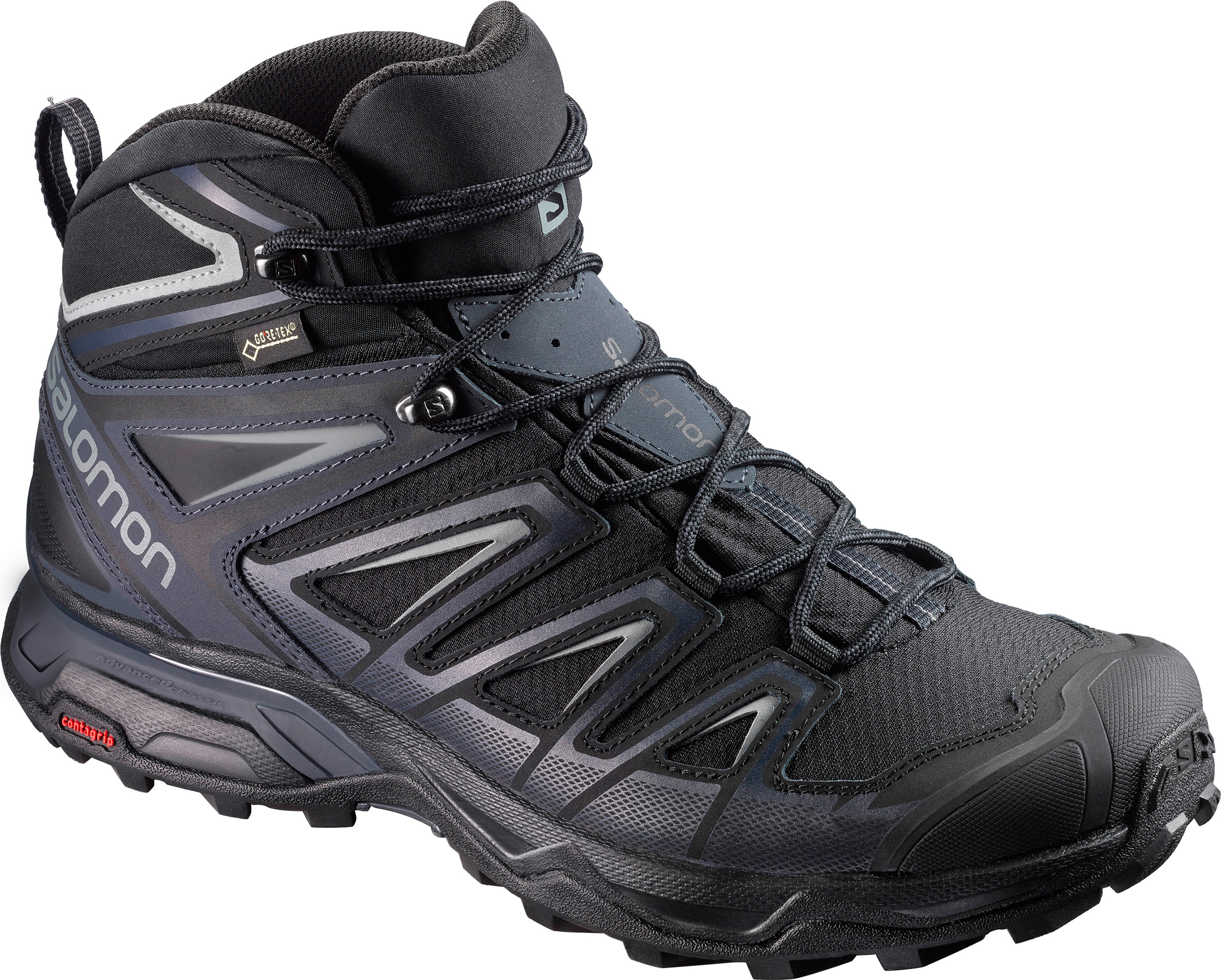 6f4a4d2fe43 Salomon X Ultra Mid 3 GTX Light Trail Shoes - Men's