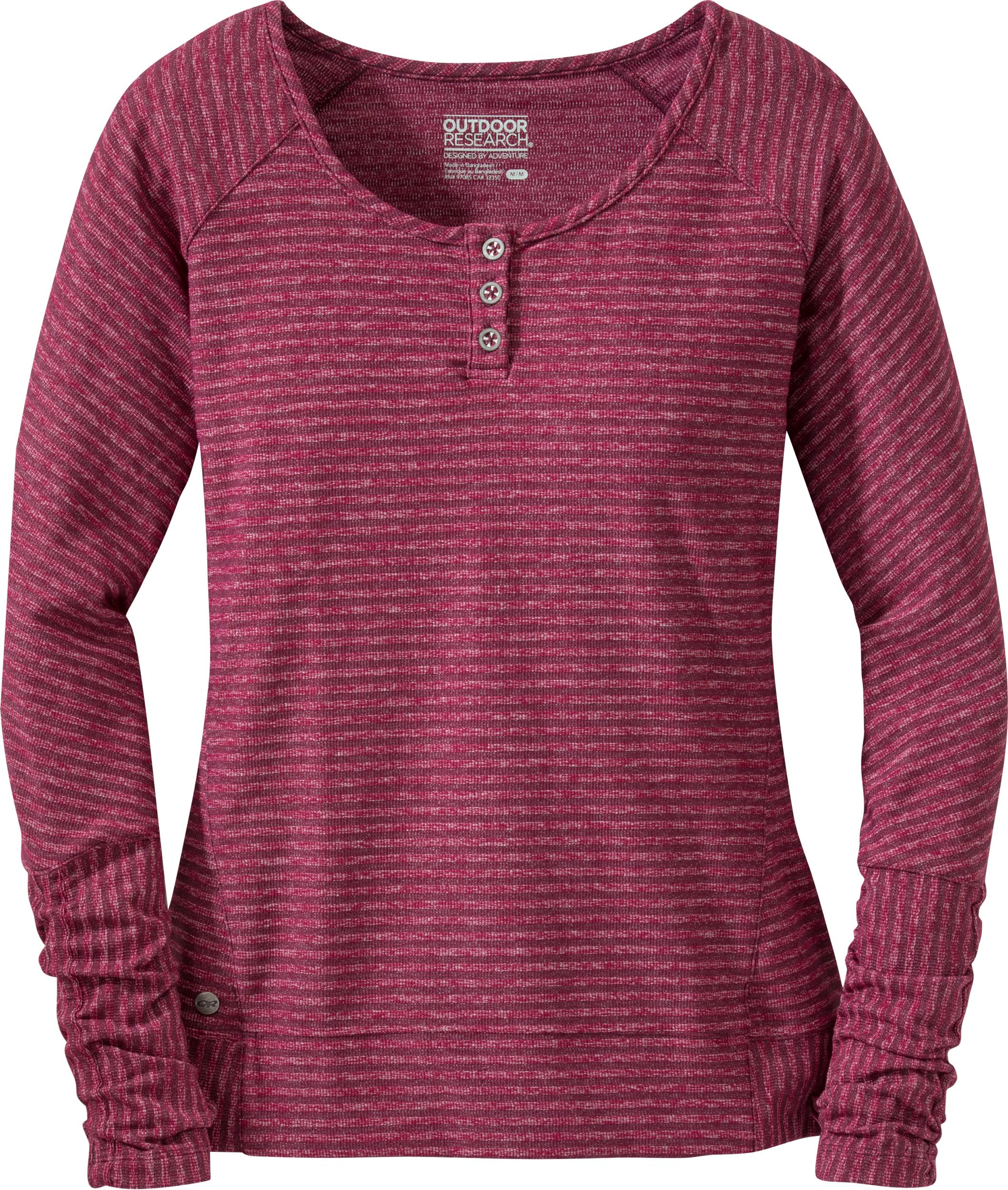 Smartwool T-Shirt /à Manches Longues et Fermeture /Éclair asym/étrique pour Femme