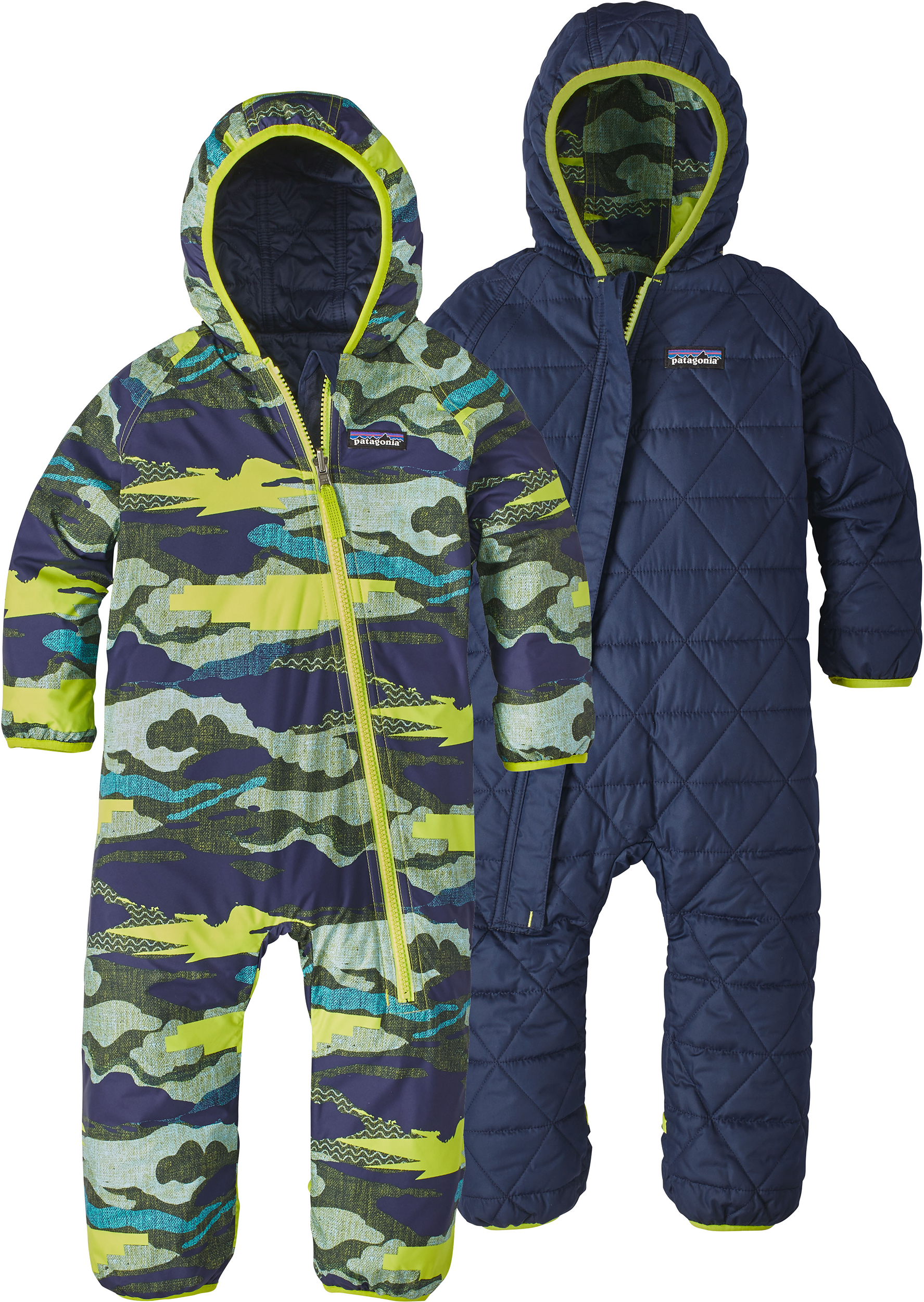 eeadfe57a Patagonia Reversible Puff-Ball Bunting Suit - Infants to Children   MEC