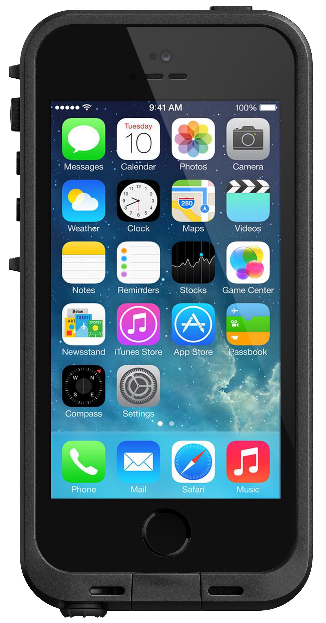 Lifeproof nüüd iphone 5s 5 case mec