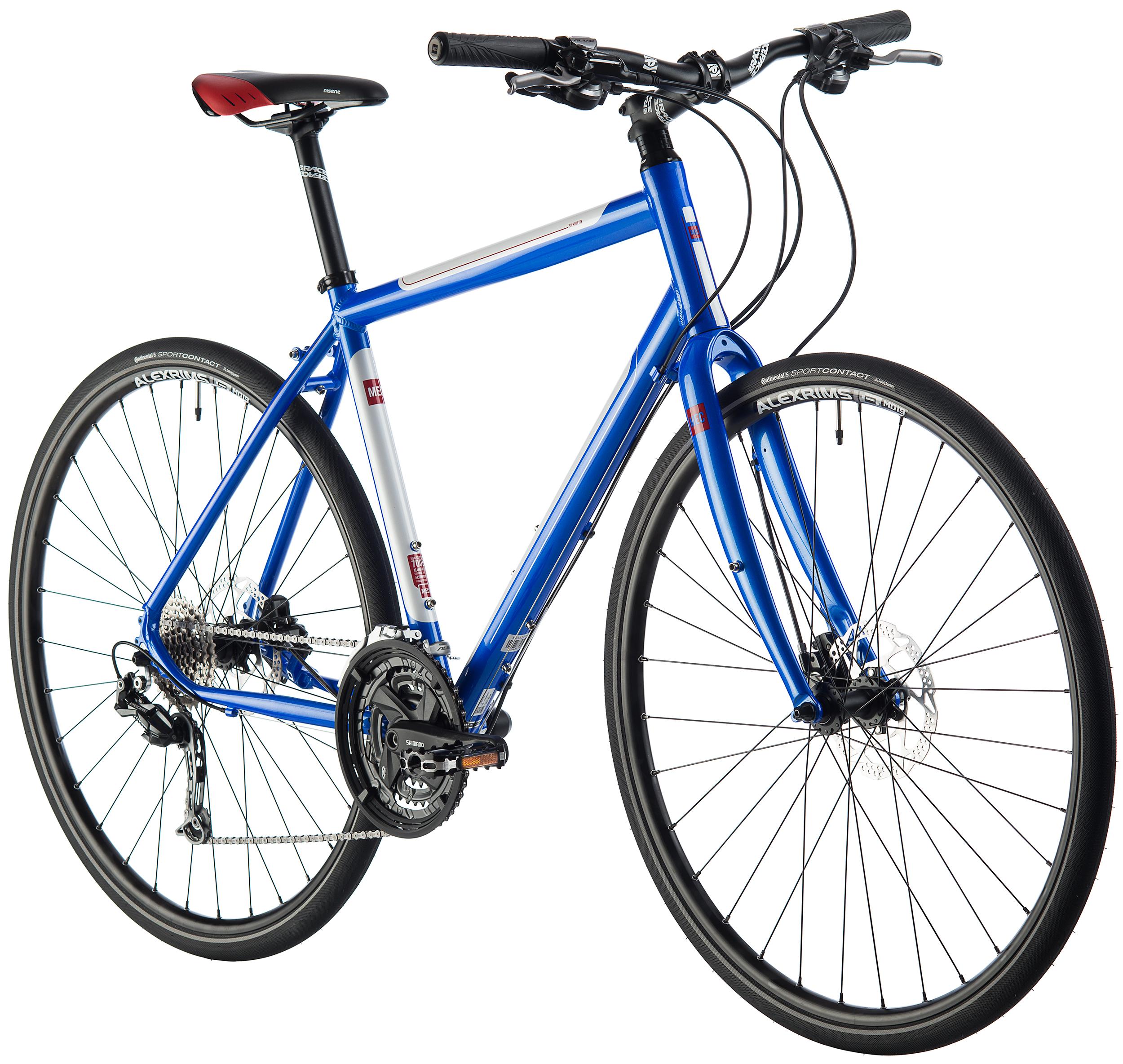 Mec Silhouette Bicycle Unisex Crank Shimano Alivio Touring 26 36 48 T