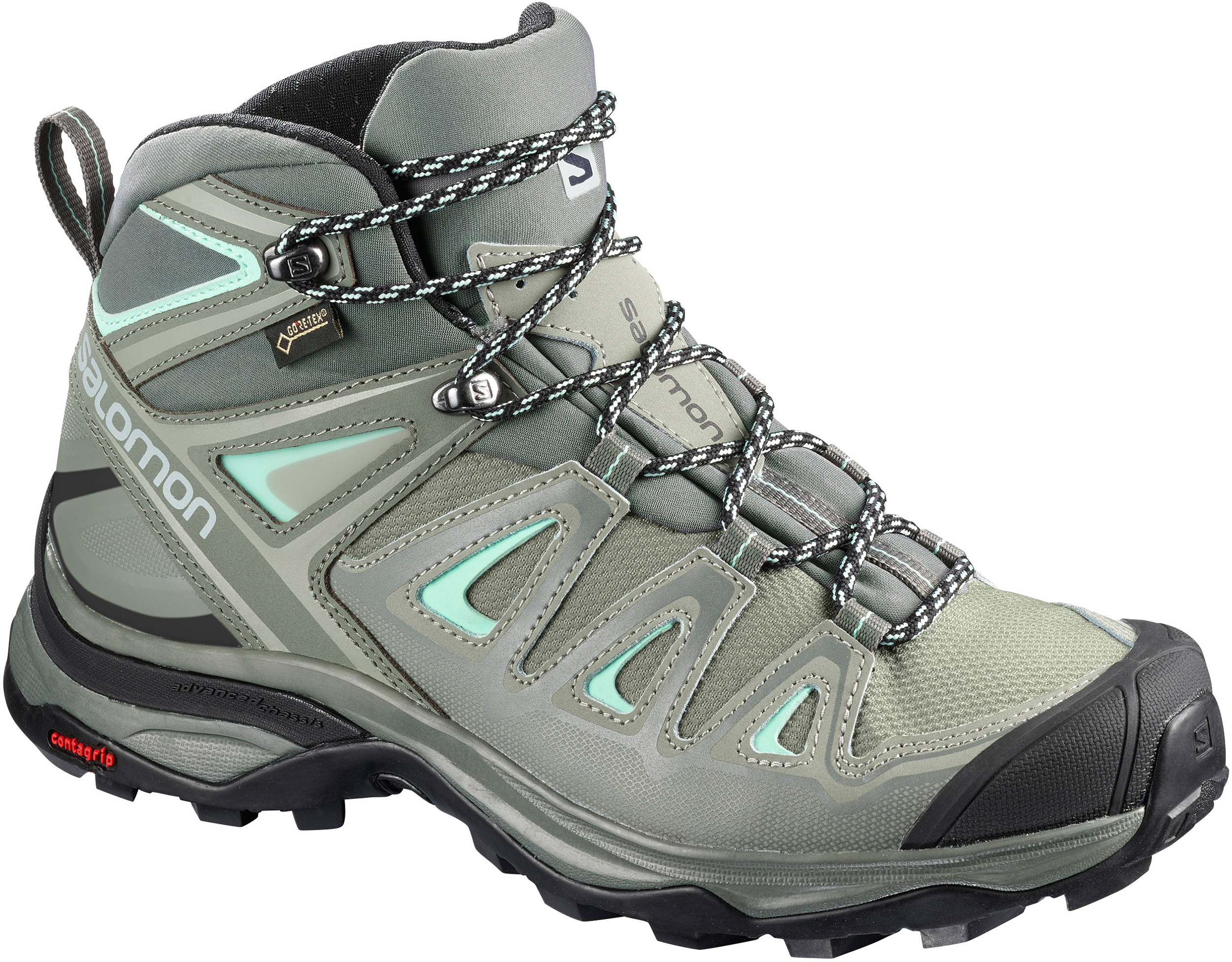 fb27db7585 Salomon X Ultra Mid 3 GTX Light Trail Shoes - Women's