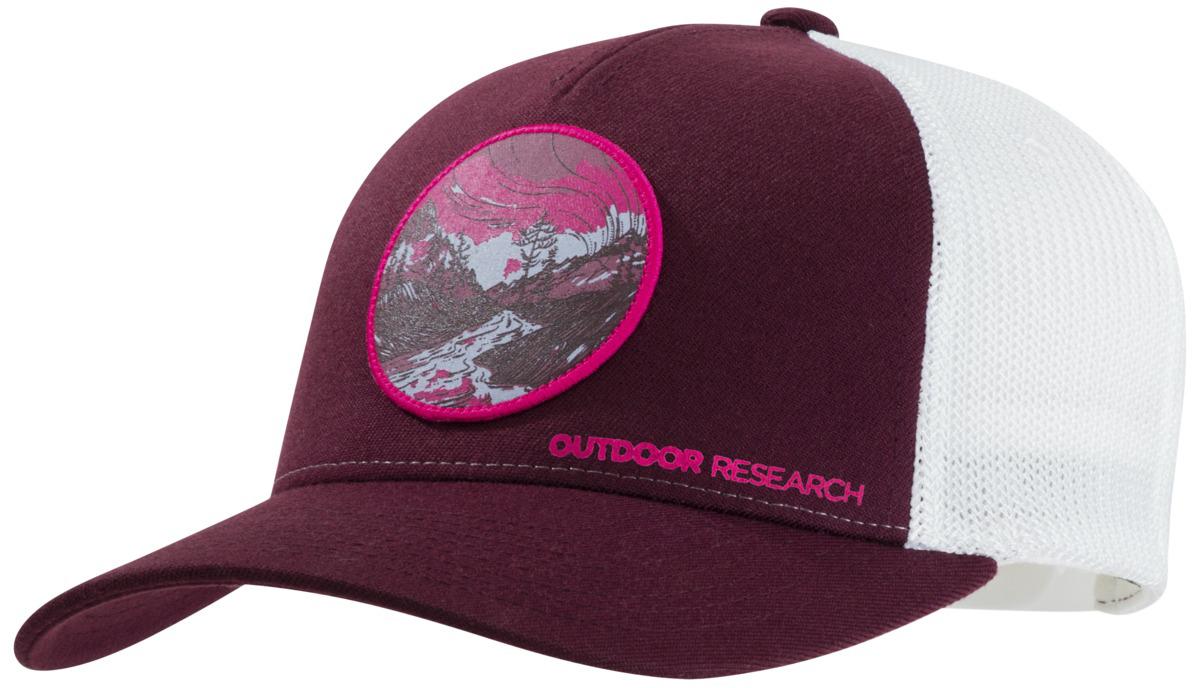 6e56d2a8720 Outdoor Research Alpenglow Trucker Hat - Unisex