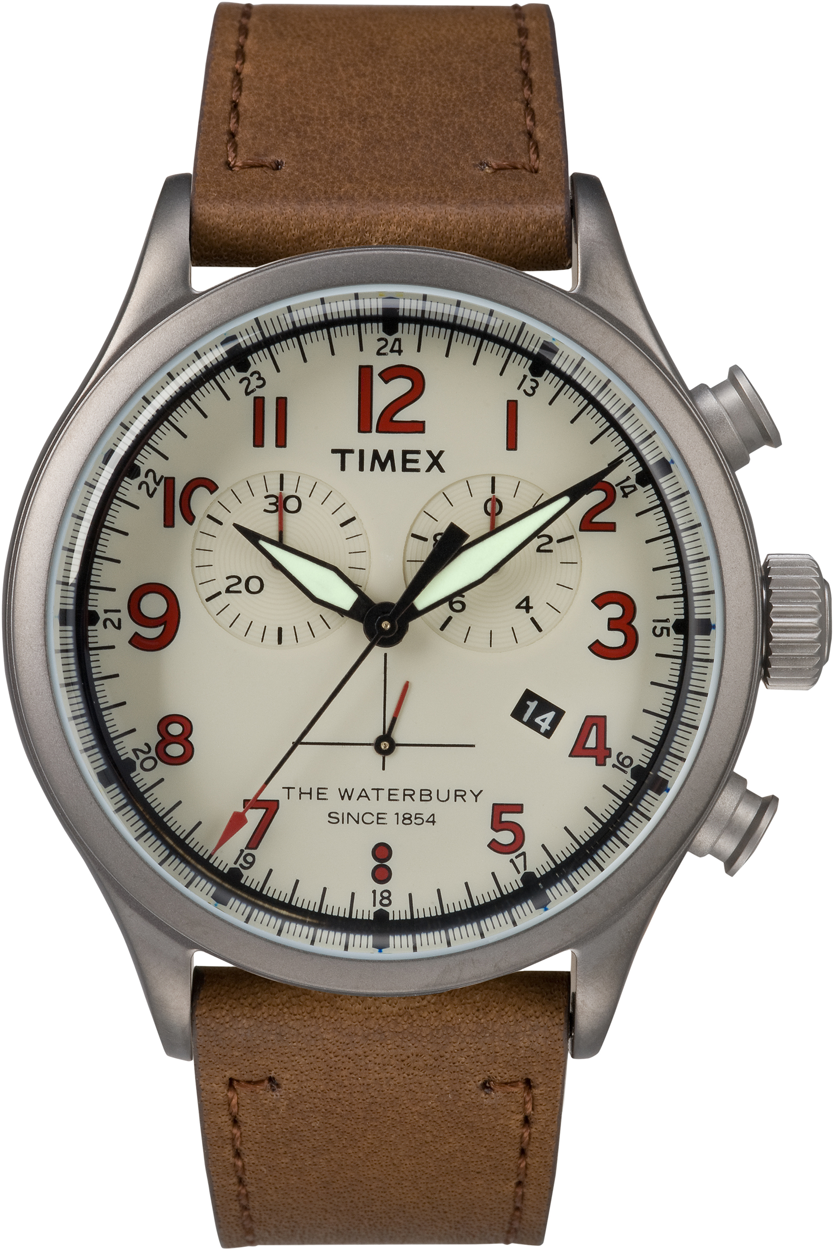 beige men leather mens watches timex with timax band products stainless s watch steel intelligent