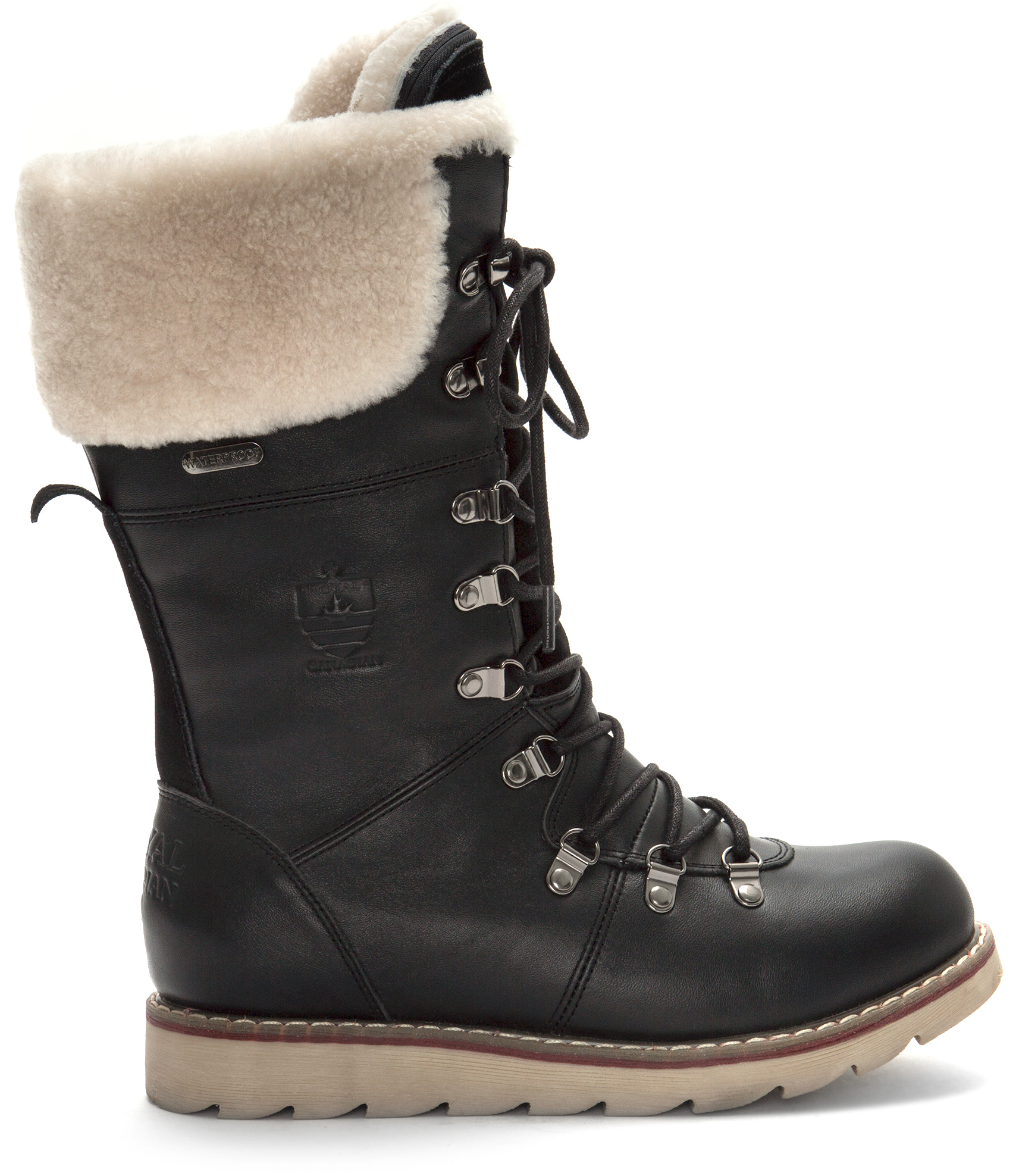Royal Canadian Louise Sherpa Lined Tall Waterproof Boots - Women s 91637df16b