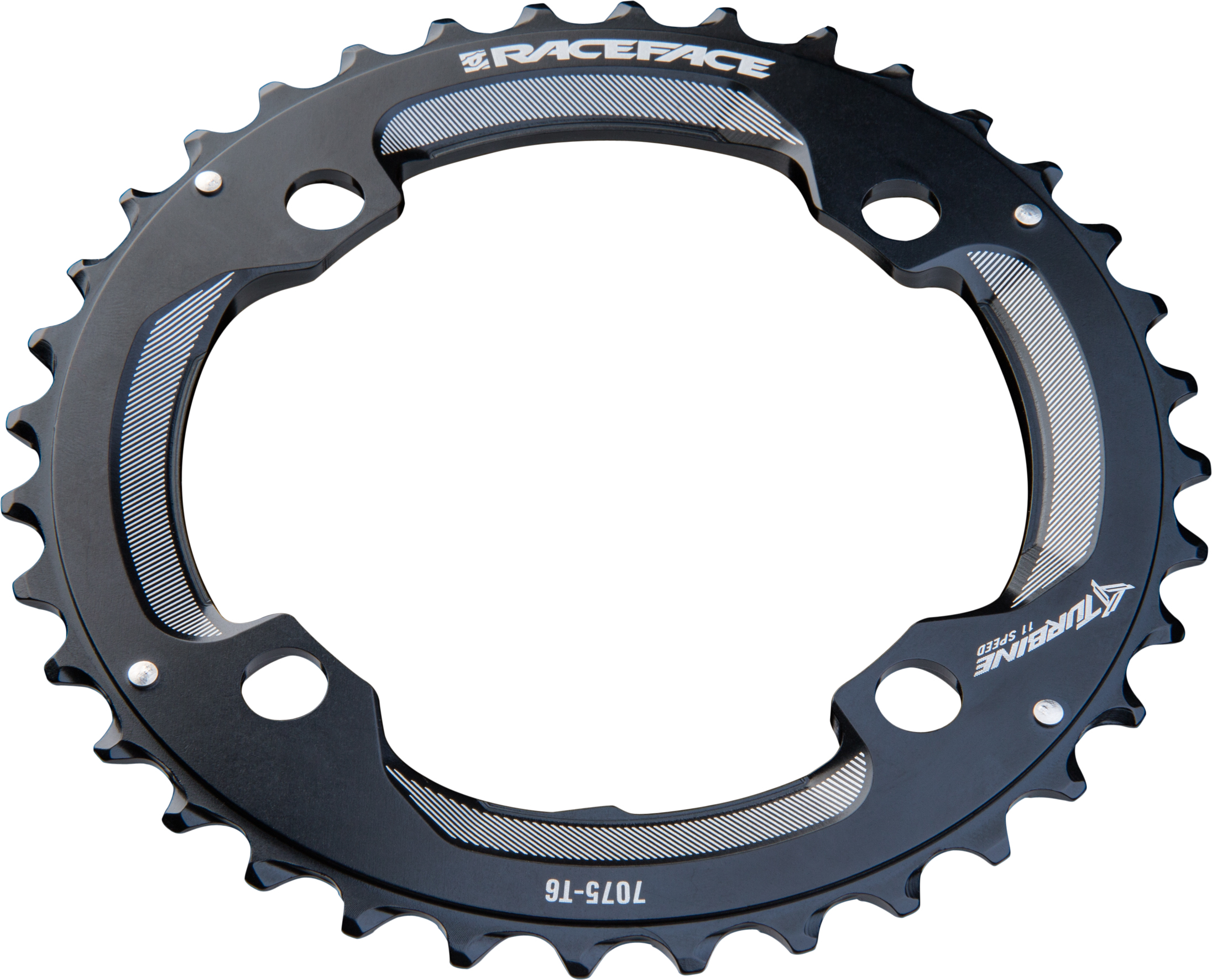 RaceFace Turbine 11-Speed Chainring 104mm BCD 34t Black