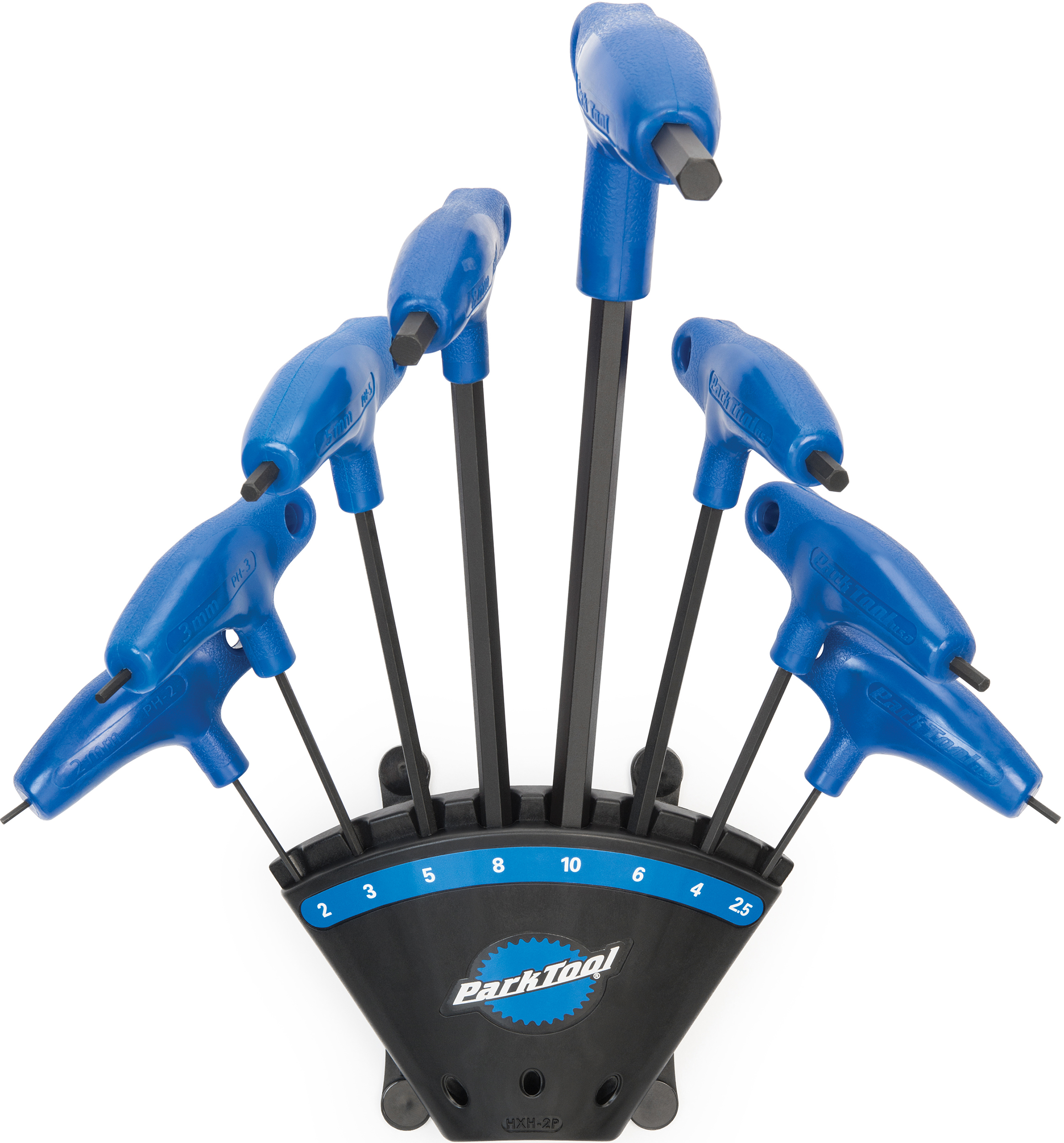 Park Tool TWS-1 8-Piece L-Shaped Torx Compatible Bicycle Wrench Set with Holder