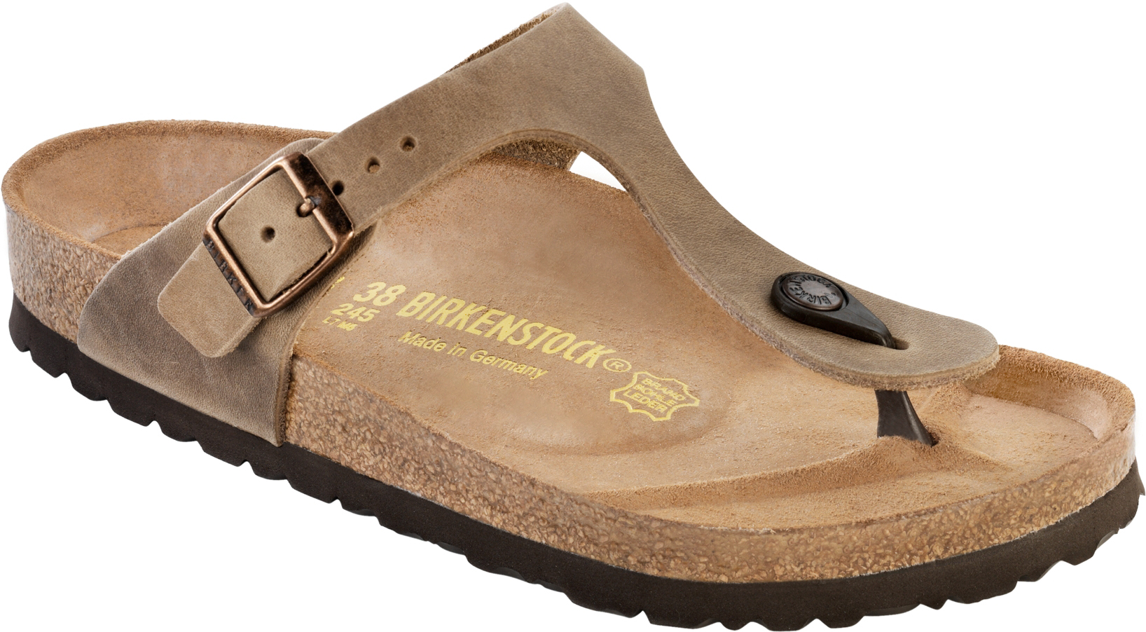 new images of new products well known Birkenstock Gizeh Leather Sandals - Women's | MEC