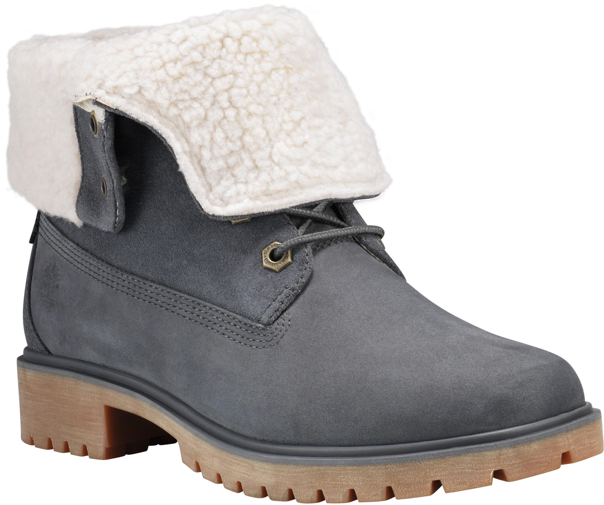 0153fccc71e Timberland Jayne Teddy Fleece Waterproof Fold-Down Boots - Women s