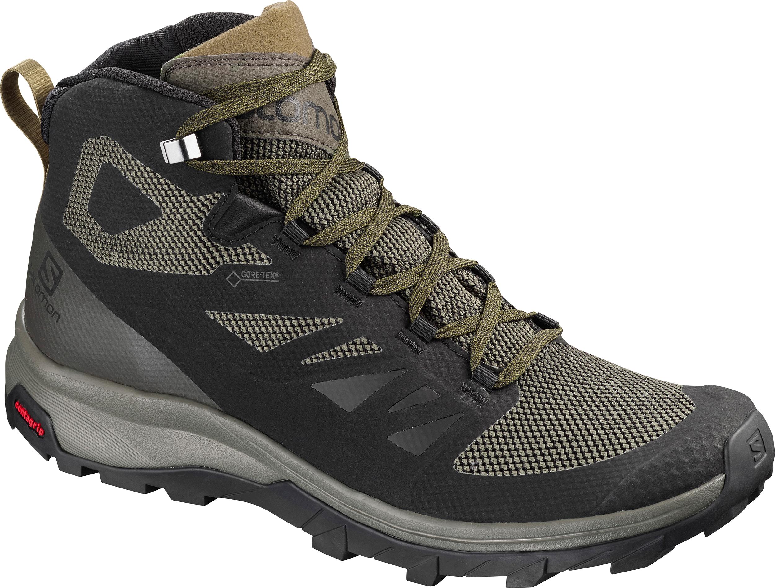 separation shoes c83a6 59af0 Salomon Outline Mid Gore-Tex Trail Shoes - Men's