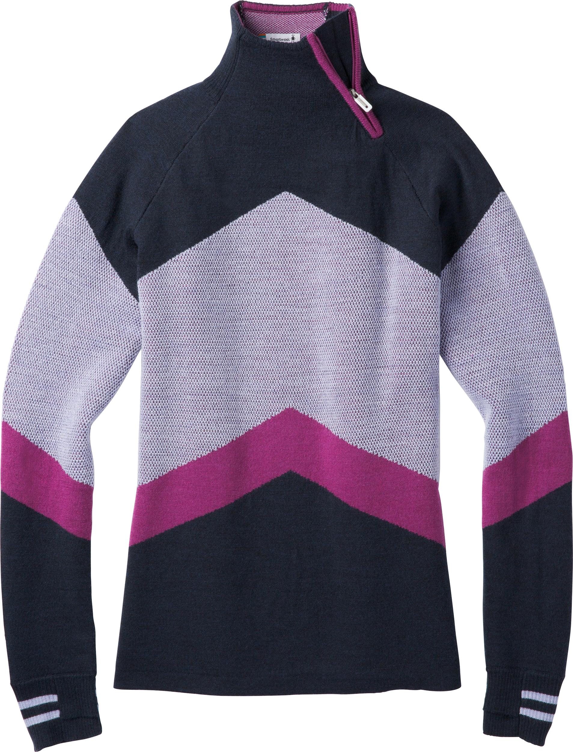 9b90f003a98a0d Smartwool Dacono Ski Funnel Neck Sweater - Women's | MEC