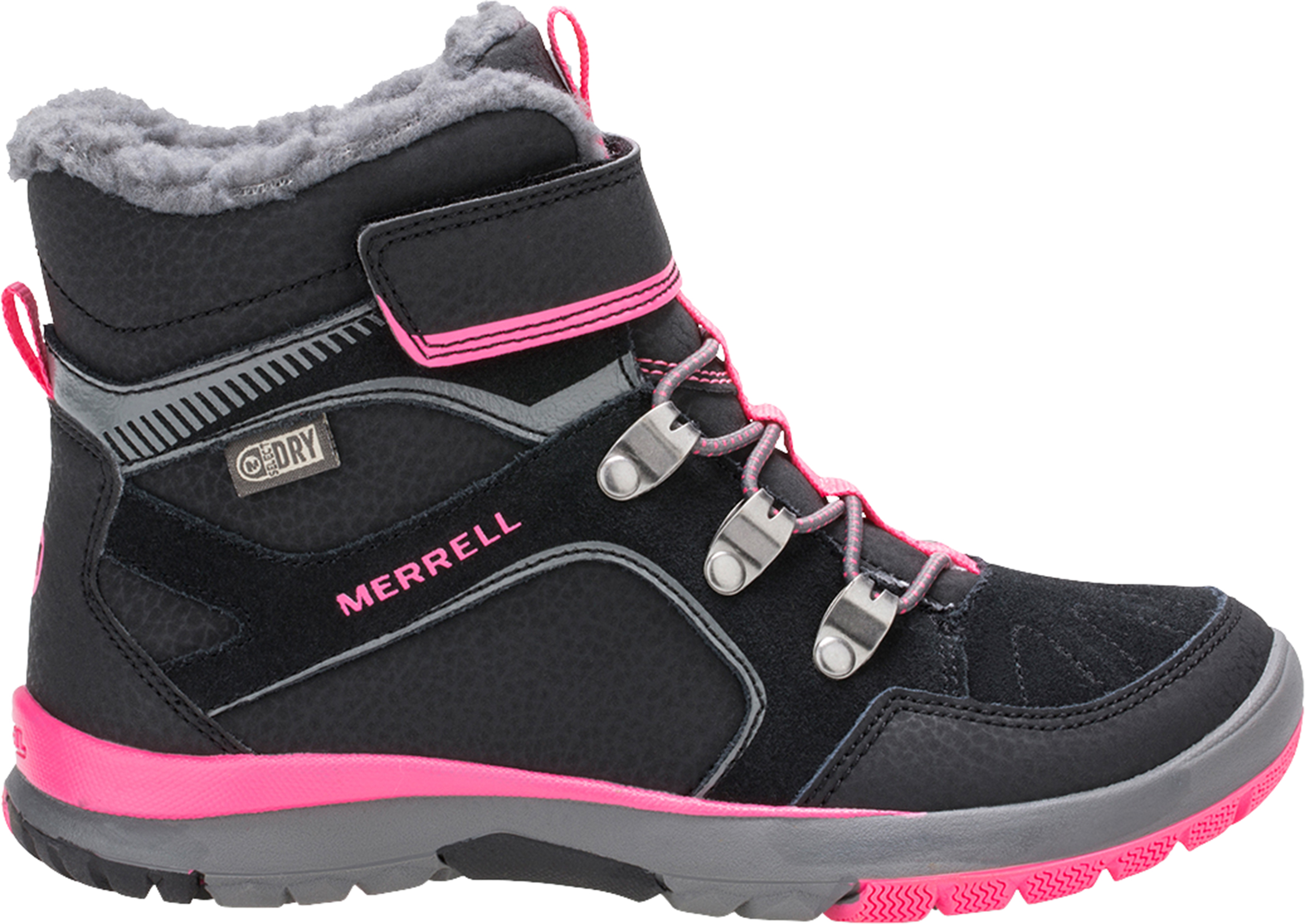6eacce9c56 Merrell Moab FST Polar Mid A/C Waterproof Insulated Shoes - Children ...