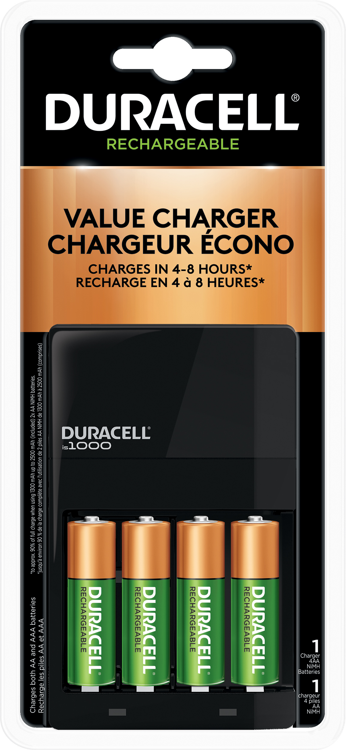 c760151ec29 Duracell Ion Speed 1000 Battery Charger | MEC
