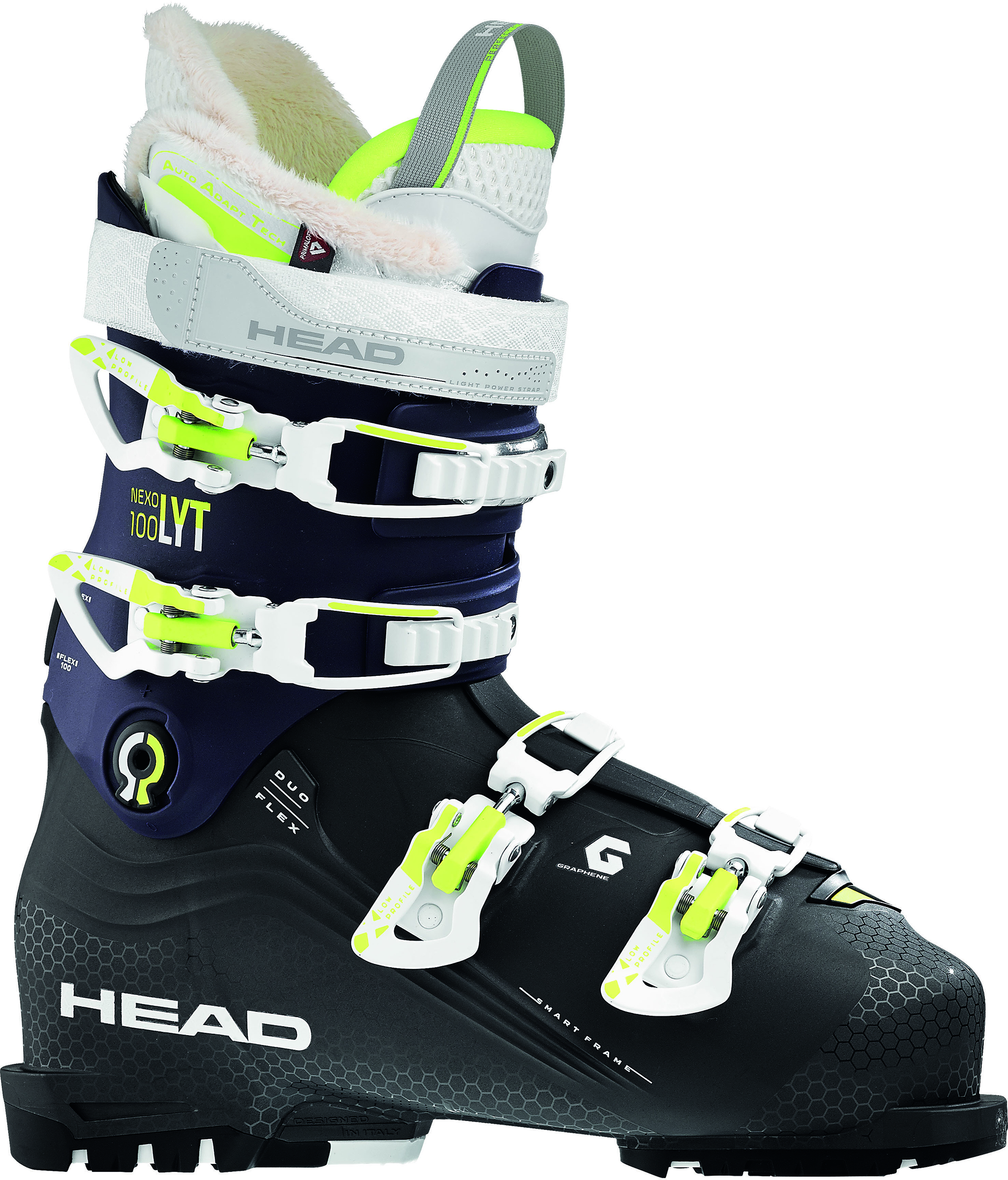 Downhill ski boots and accessories b9dc87a30