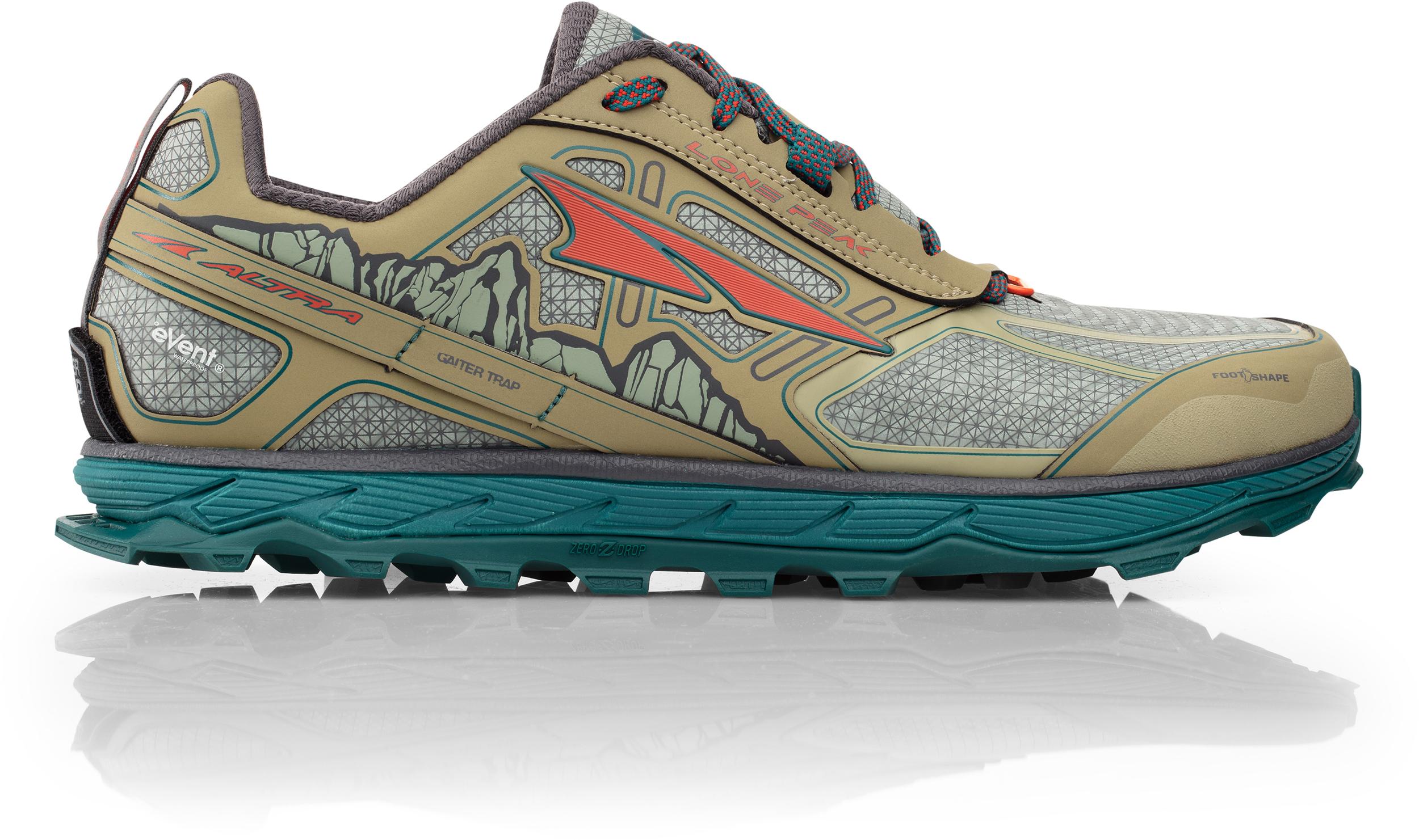 Snow Running Shoes >> Altra Lone Peak 4 Low Rain Snow Mud Waterproof Trai Men S Mec