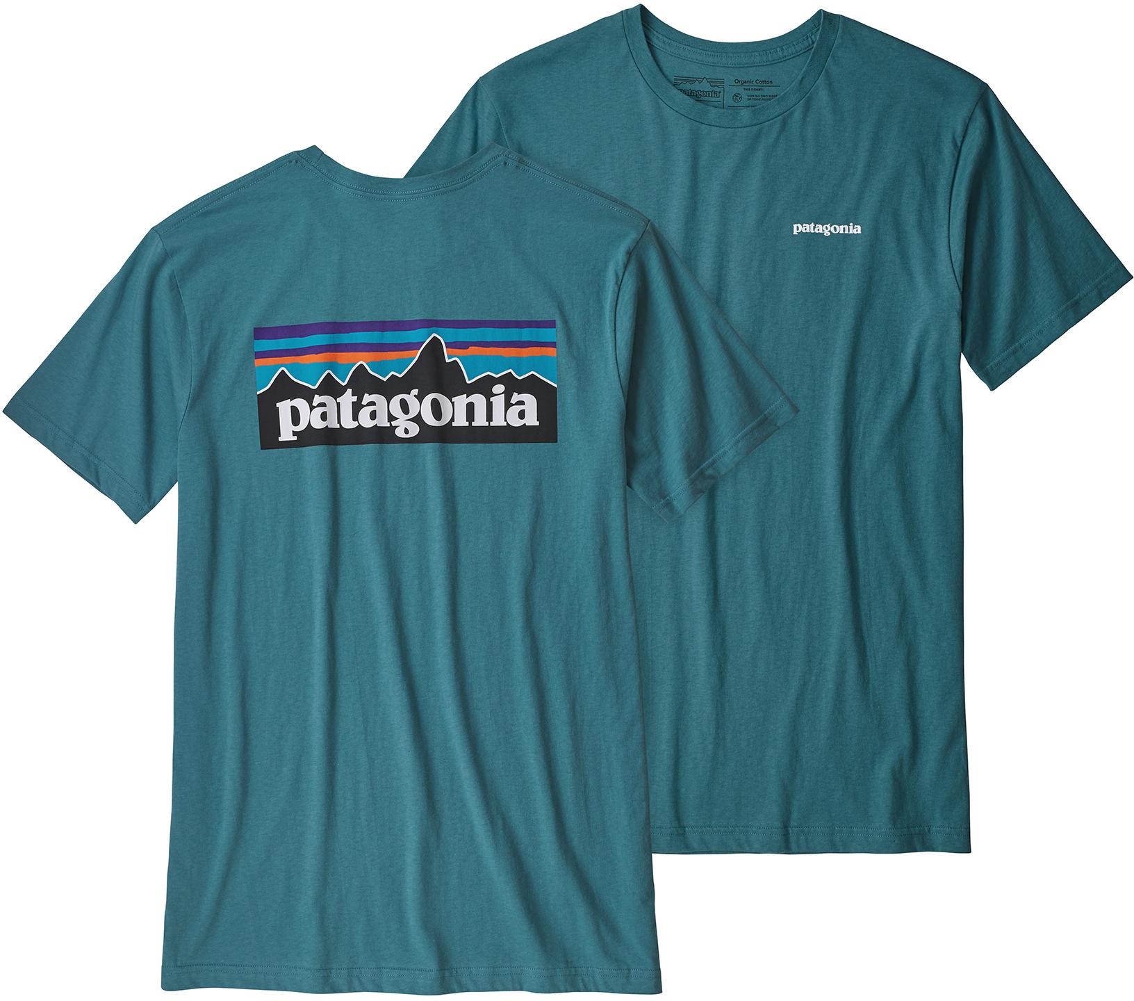435c9cfe428 Patagonia P-6 Logo Organic T-Shirt - Men s