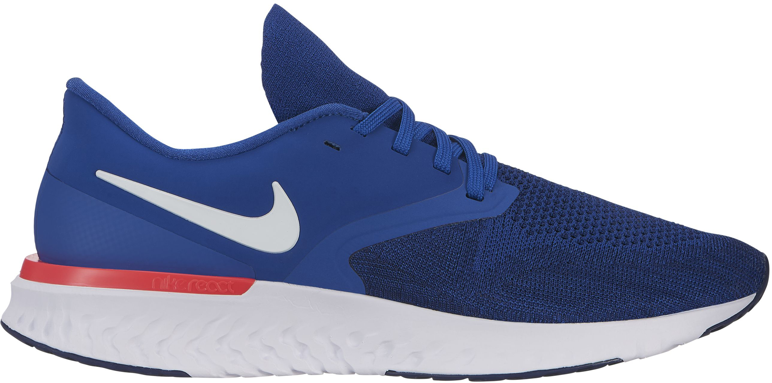 b4c555a230a Nike Odyssey React Flyknit 2 Road Running Shoes - Men s