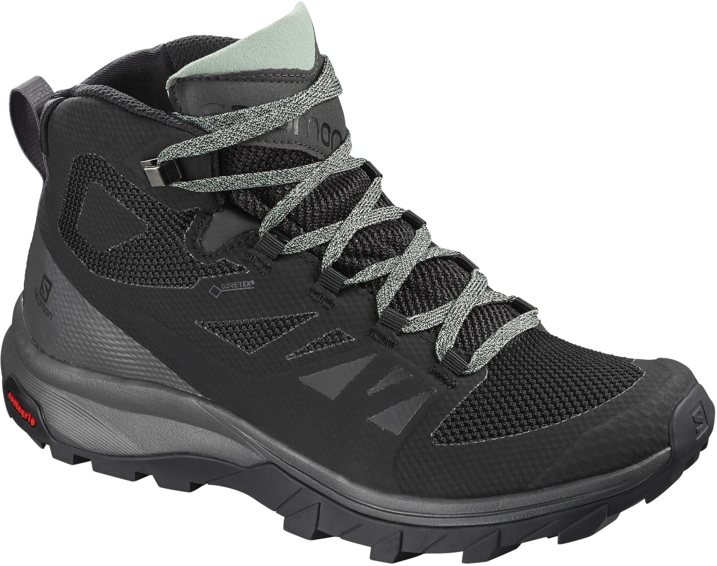 premium selection 86e0c d4043 Salomon OUTline Mid Gore-Tex Trail Shoes - Women's