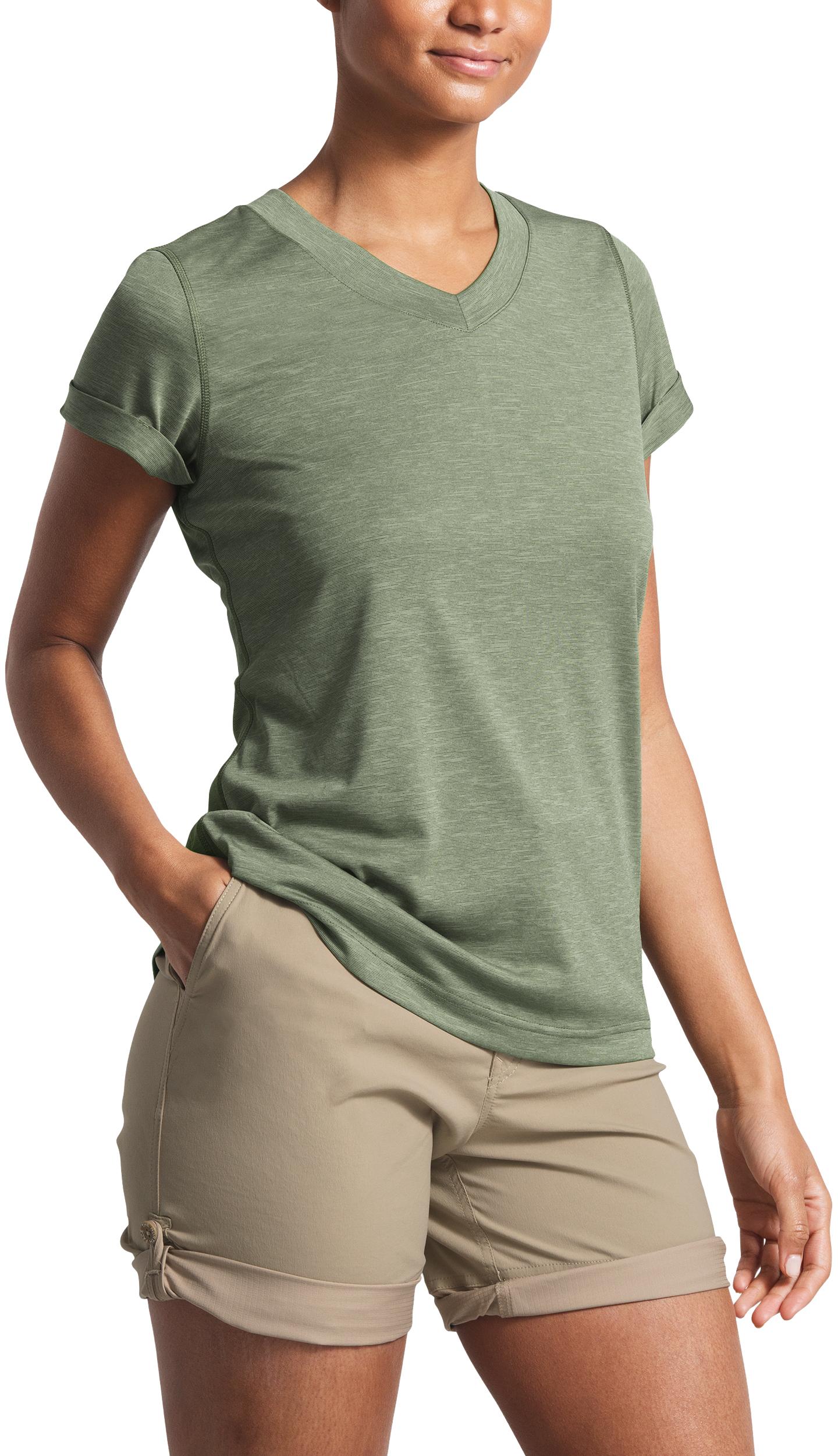3992f3a50 The North Face HyperLayer FD Short Sleeve V-Neck - Women's | MEC