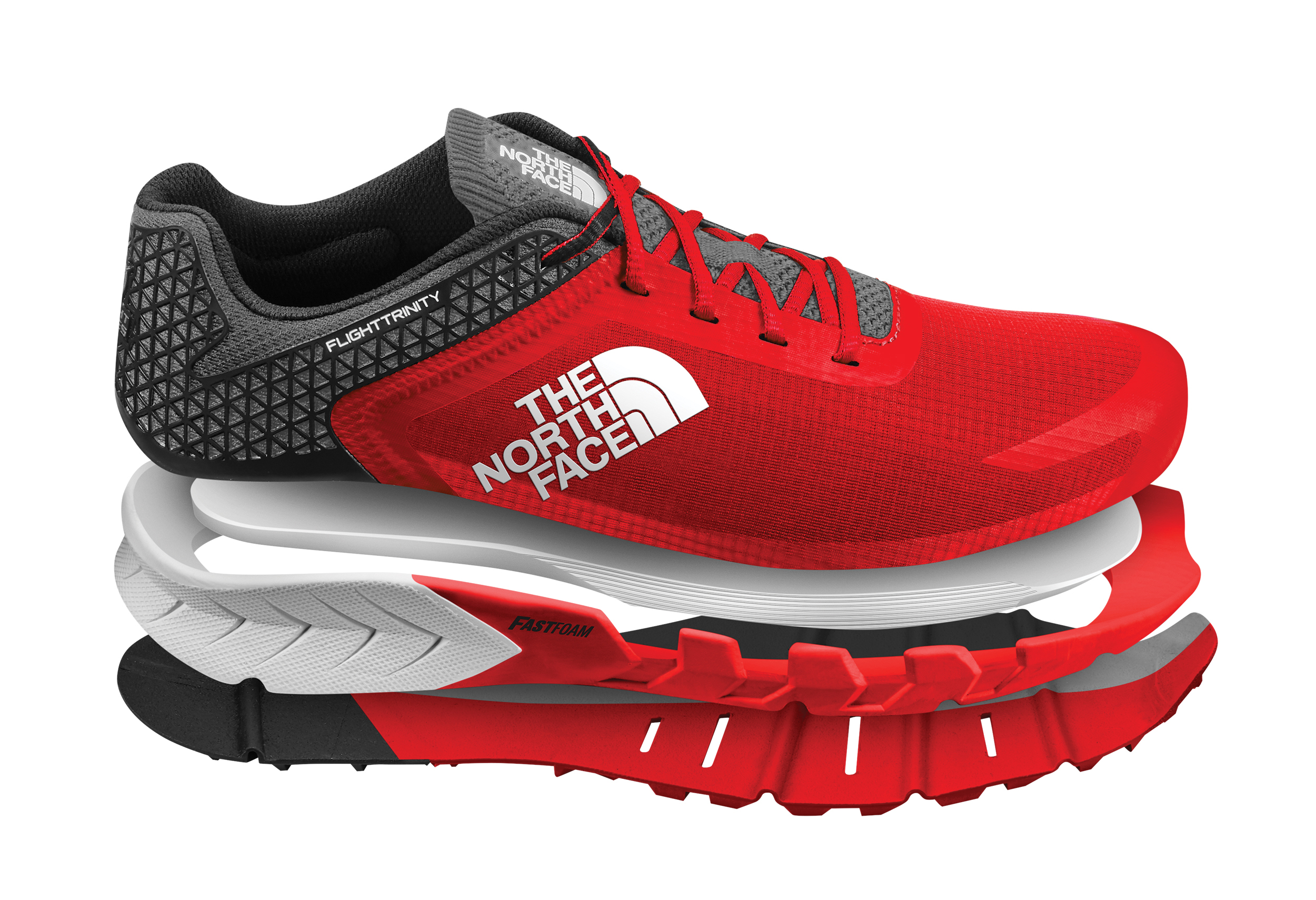 buy online 65d99 1a039 The North Face Flight Trinity Trail Running Shoes - Men's