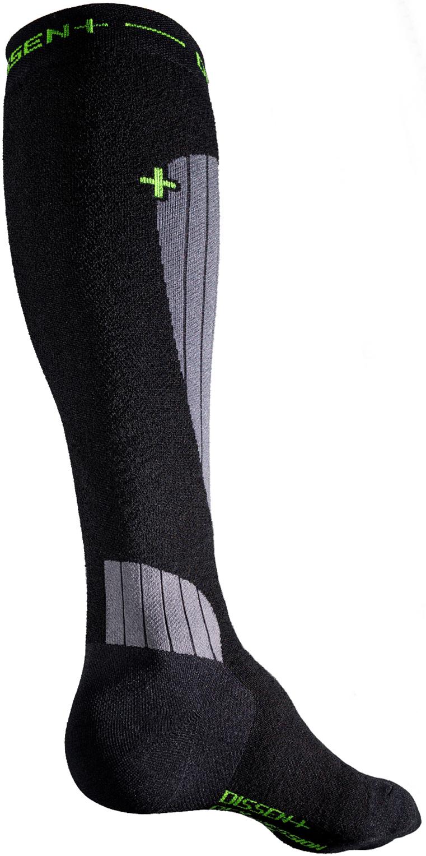 Dissent Ski GFX DL Compression Socks Black L Men 10.5-12.5