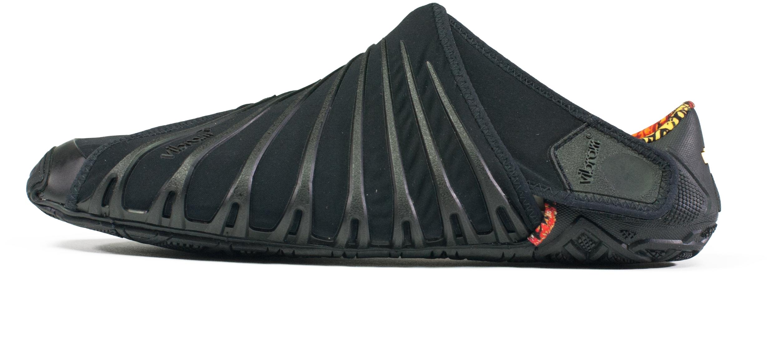 Vibram Furoshiki Original Wrap Semelle Chaussures Unisexe Couleur Noir