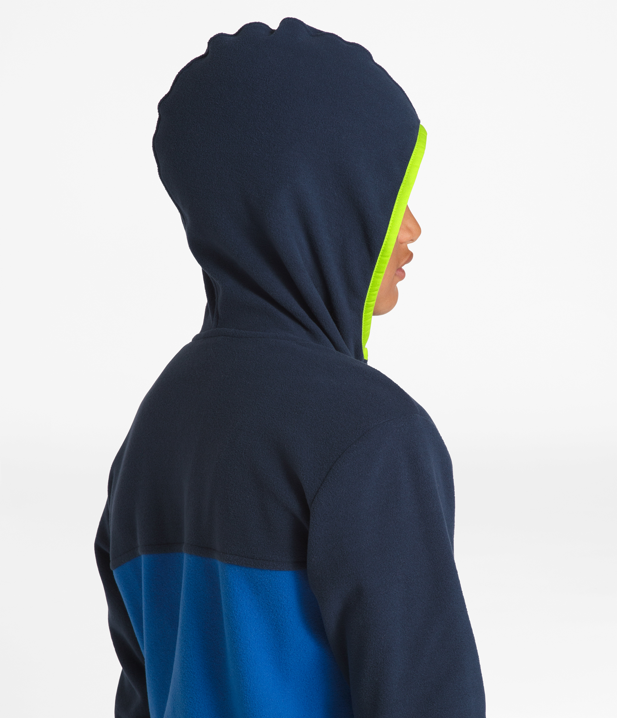 260f0b6e8 The North Face Glacier Full Zip Hoodie - Boys' - Youths | MEC