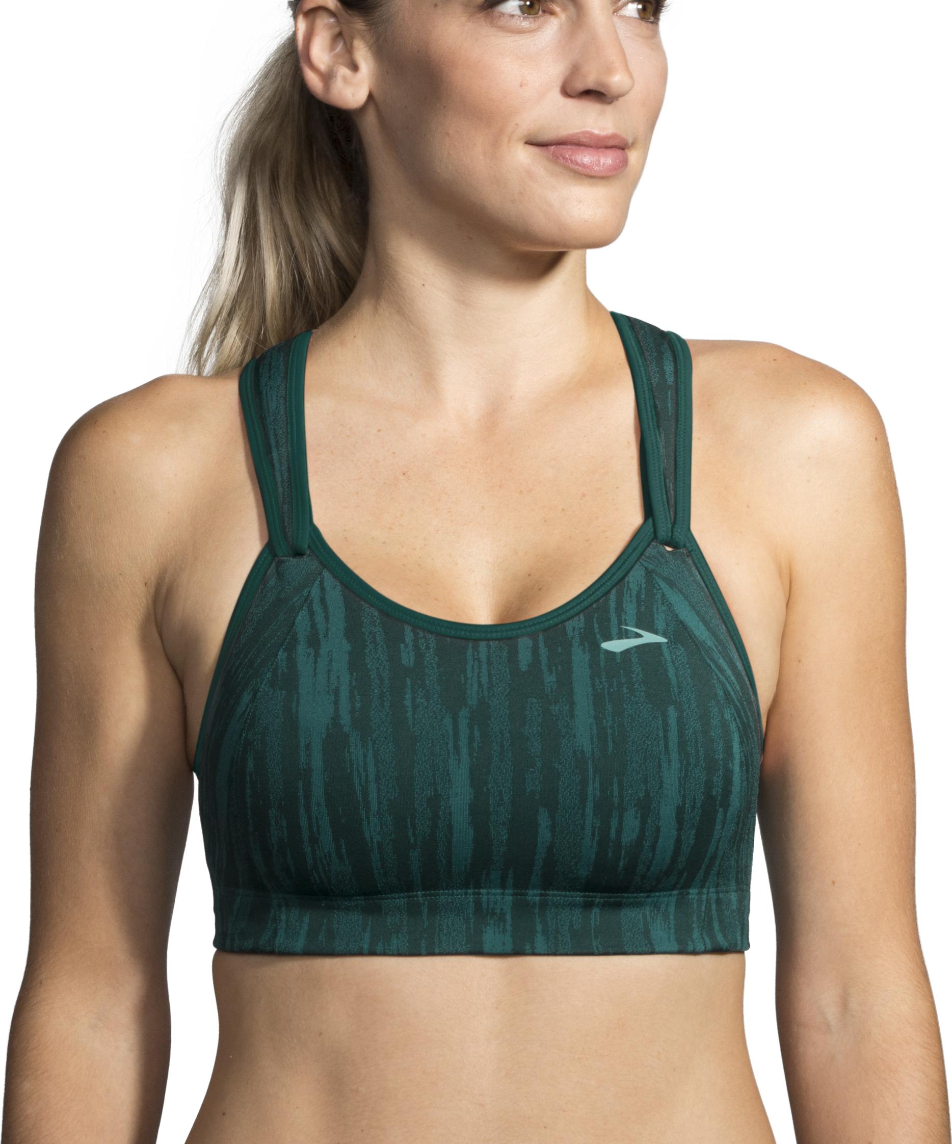 Women High Impact Shock Absorber Wireless B-G Cup Tank Top Gym Active Sports Bra