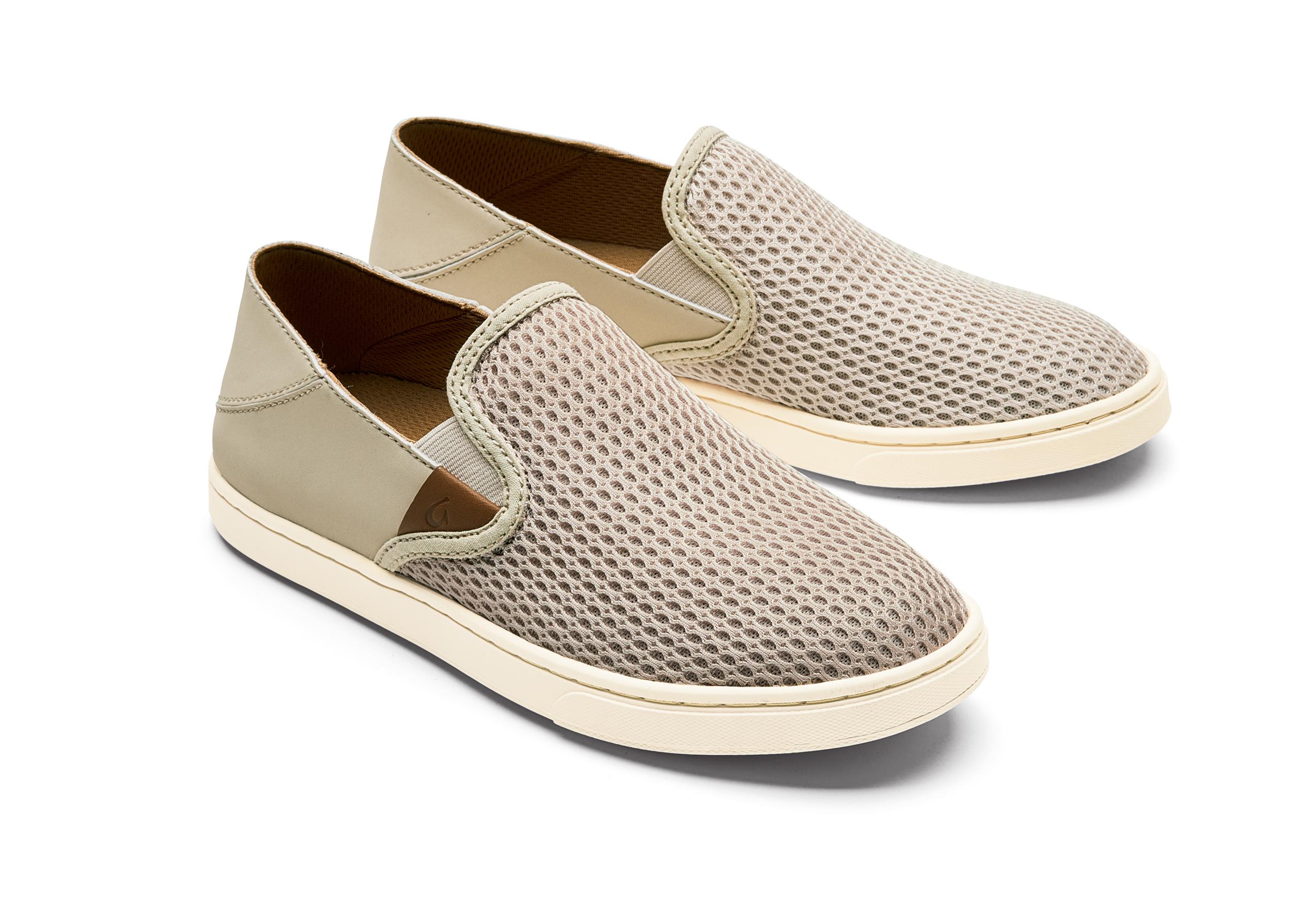 Clay Leather Pehuea Olukai Woman Sneaker rCodxeB