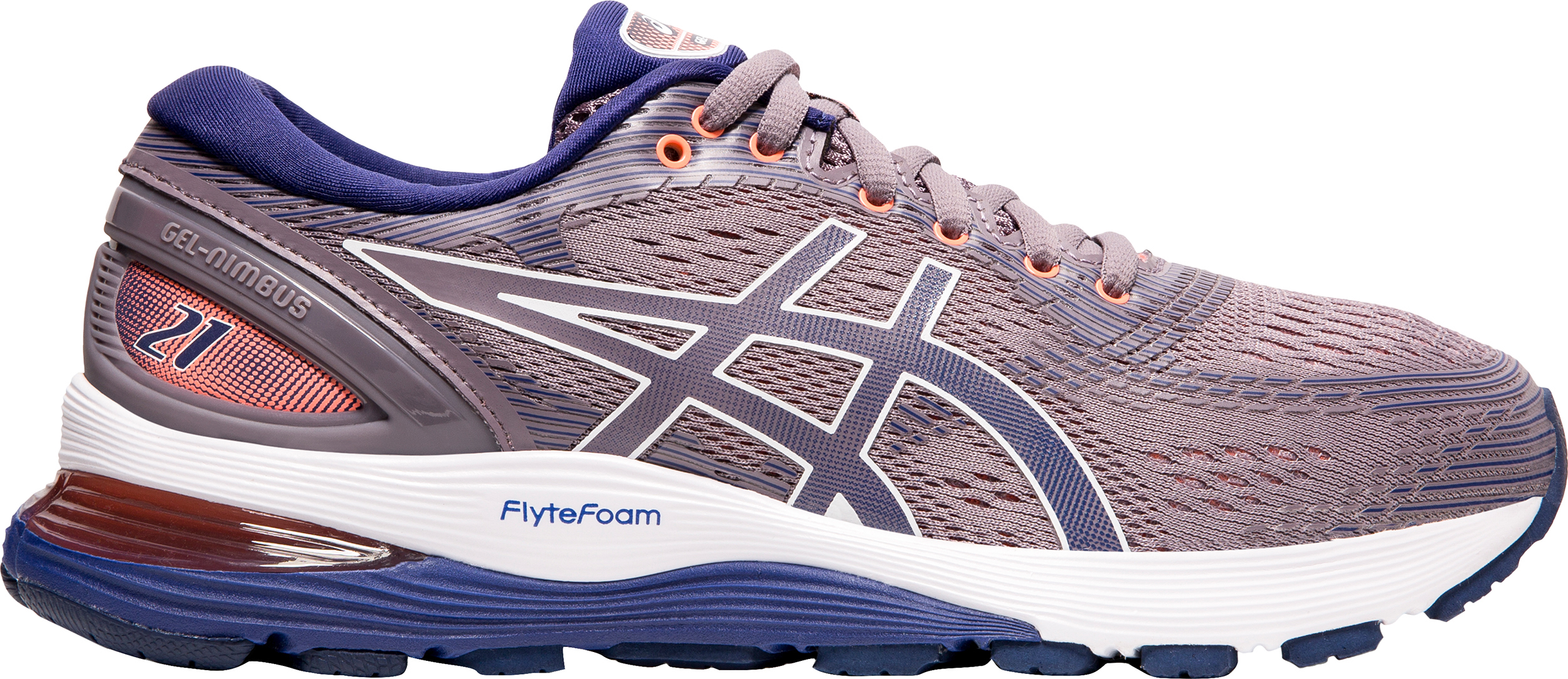 new styles 29962 ae475 Asics Gel-Nimbus 21 Road Running Shoes - Women's