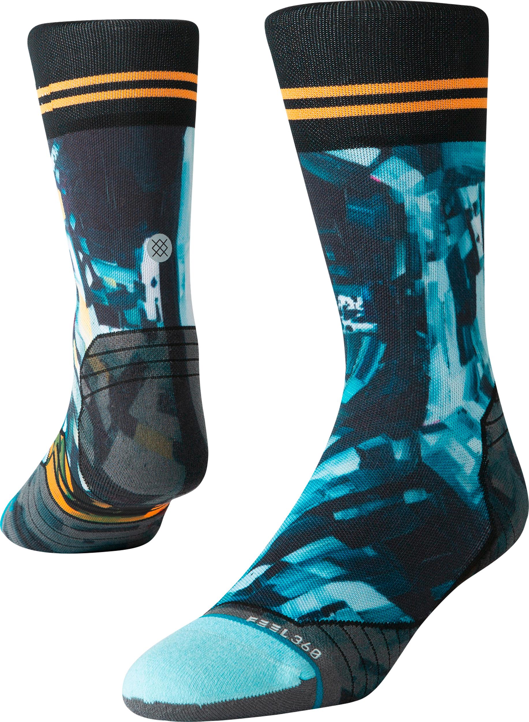 ab101430f72f1 Stance Kagan Moon Man Crew Run Socks - Unisex | MEC