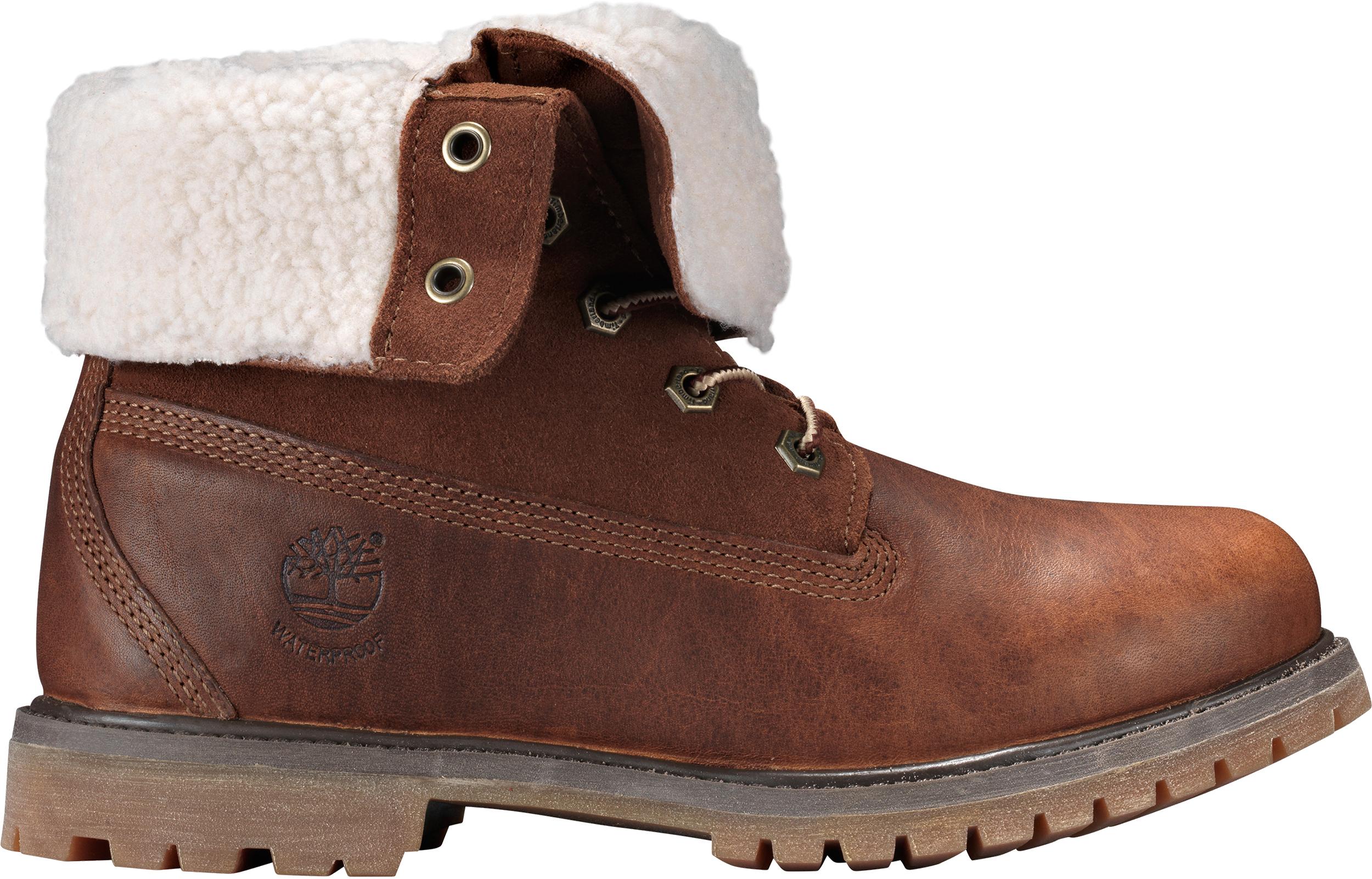 Timberland Authentic Teddy Fleece Waterproof Fold,Down Boots , Women\u0027s