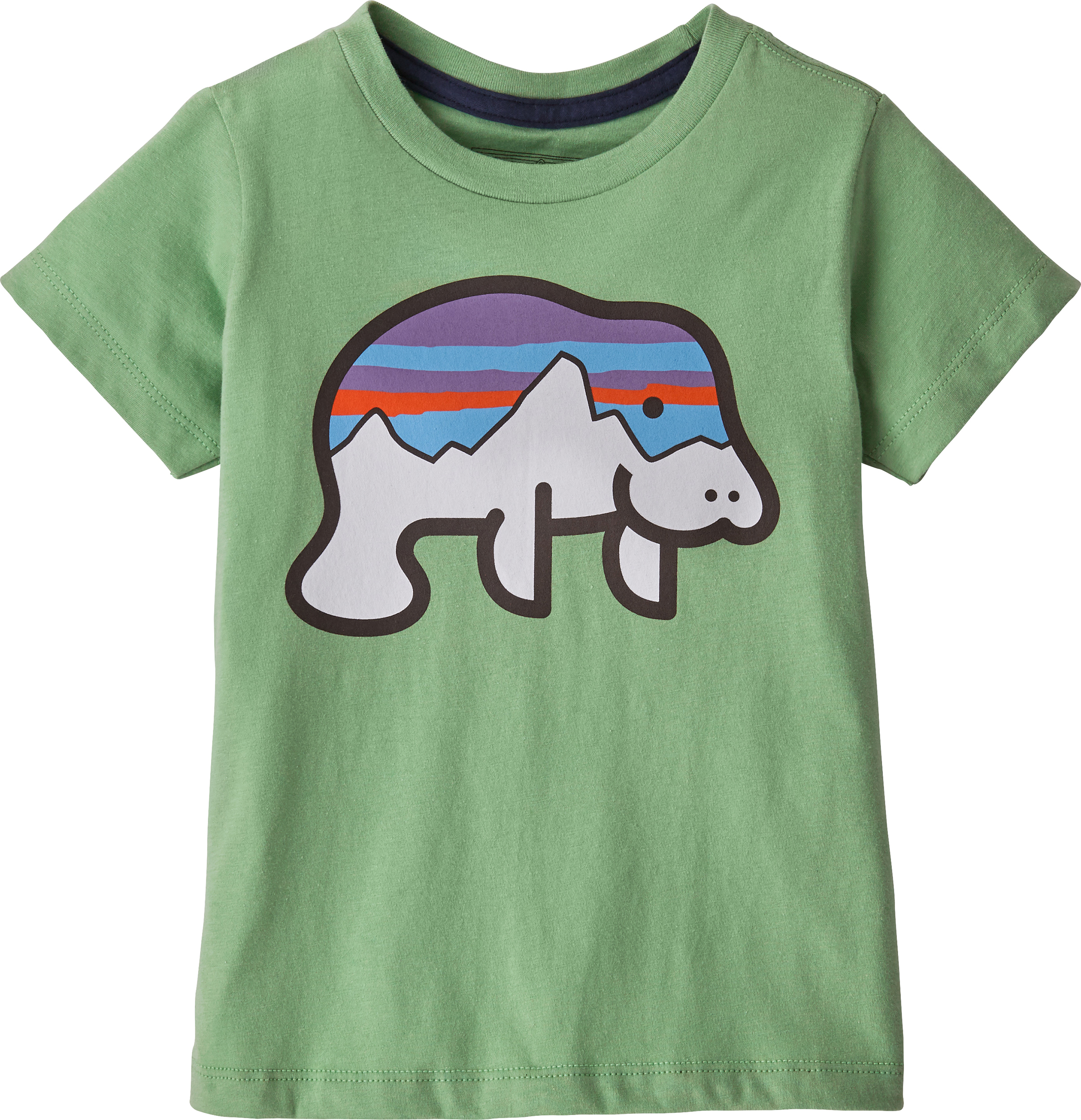 Mountains are Calling Childrens Long Sleeve T-Shirt Boys Cotton Tee Tops