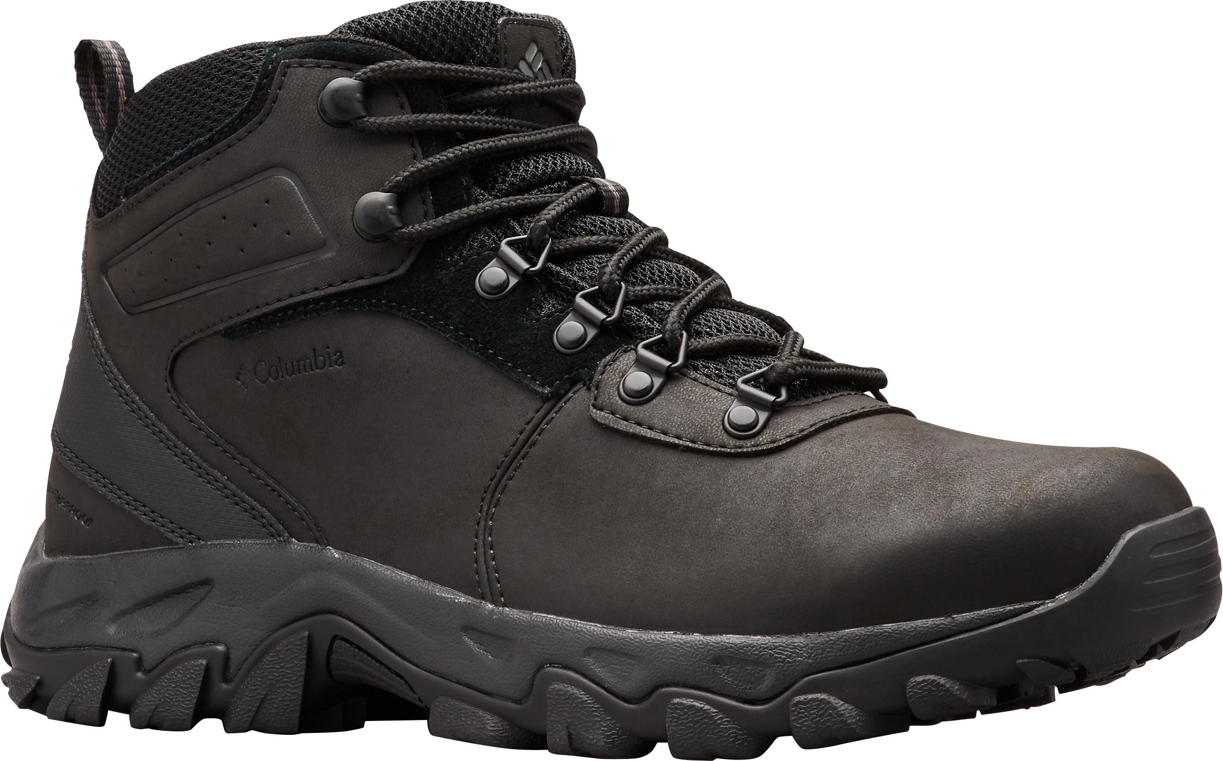 columbia hiking boots men's waterproof