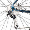 National Bicycle Blue/Silver